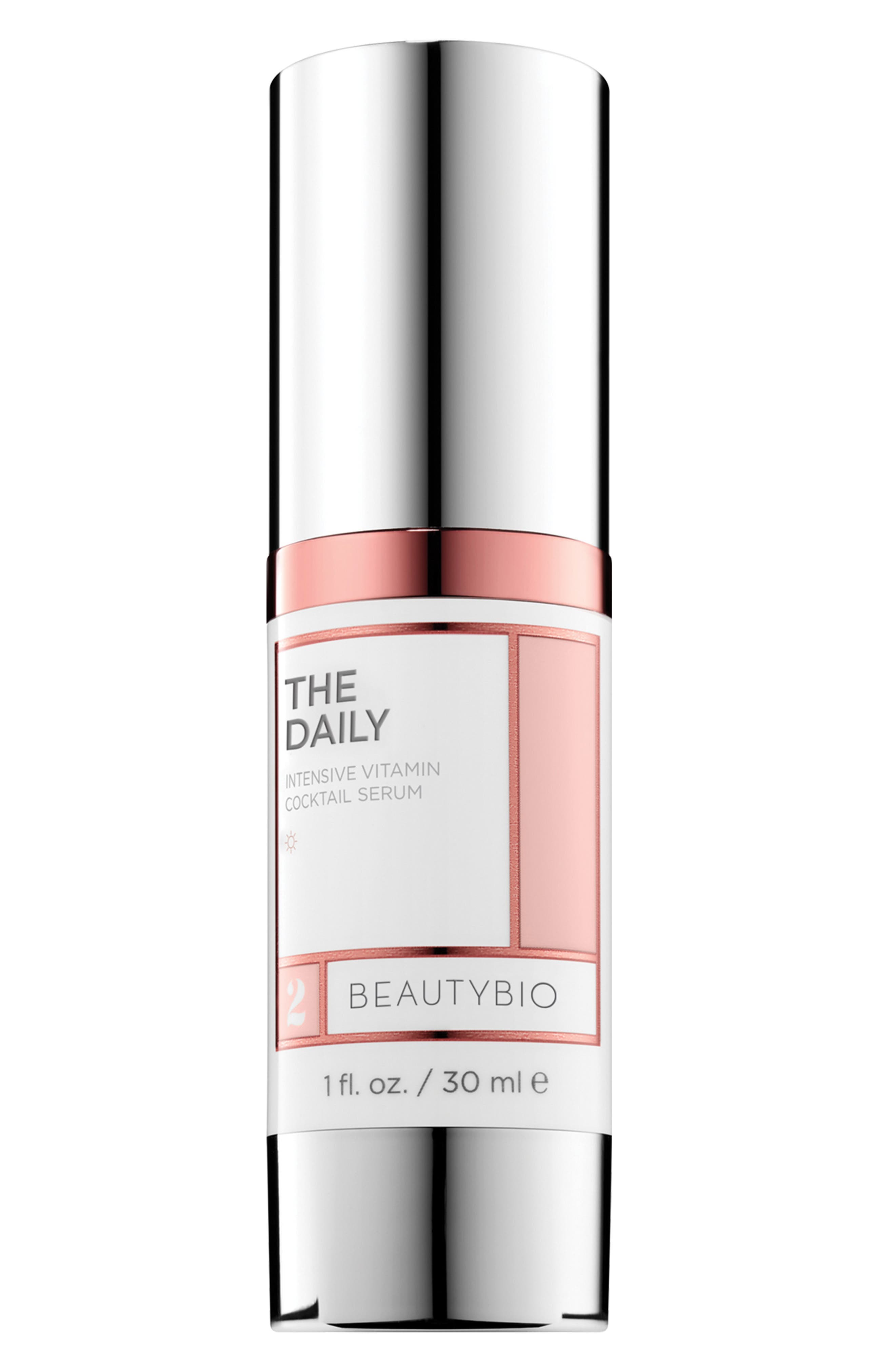 BEAUTYBIO, The Daily Intensive Vitamin Cocktail Serum, Main thumbnail 1, color, NO COLOR