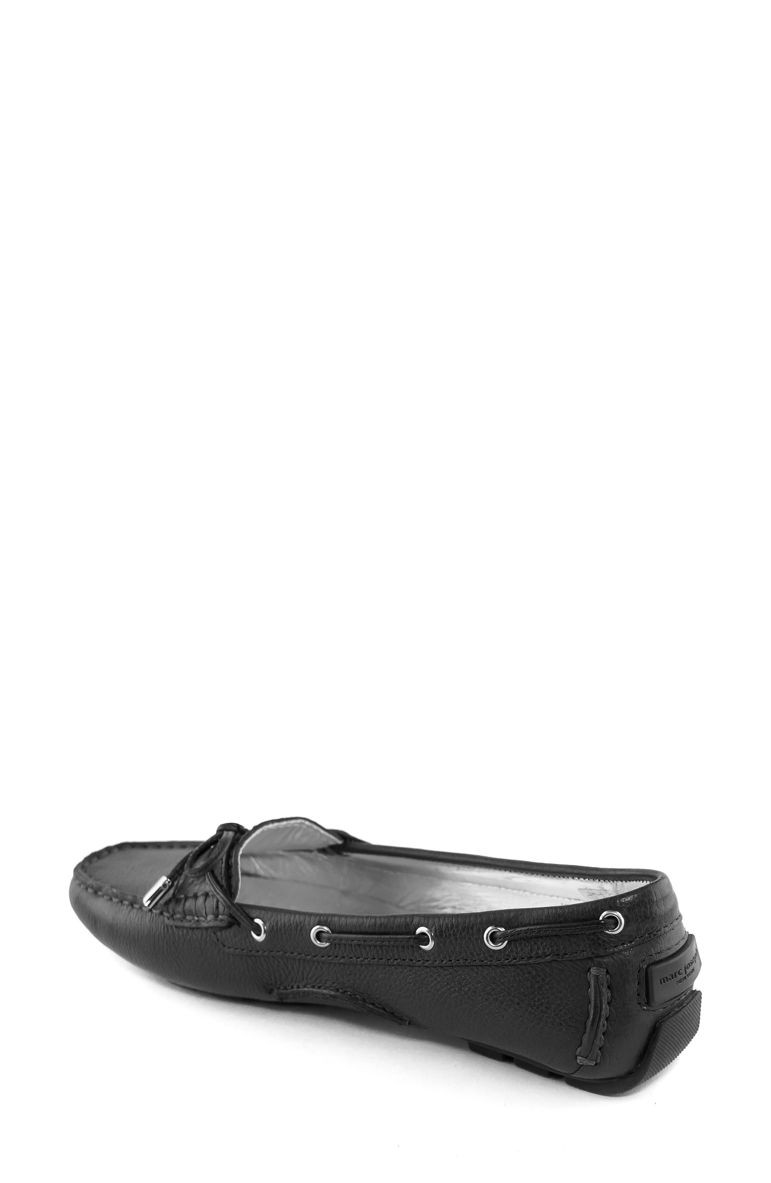MARC JOSEPH NEW YORK, Rockaway Loafer, Alternate thumbnail 2, color, BLACK LEATHER