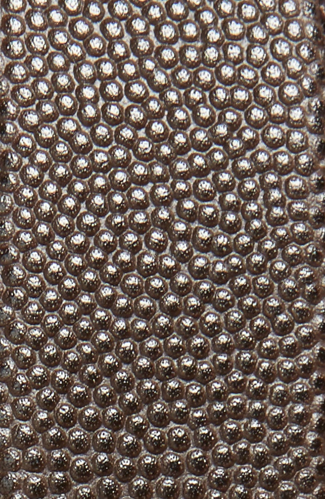 SALVATORE FERRAGAMO, Salvatore Ferragaom Reversible Leather Belt, Alternate thumbnail 3, color, CHOCOLATE/ BLACK