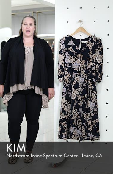Floral Midi Dress, sales video thumbnail