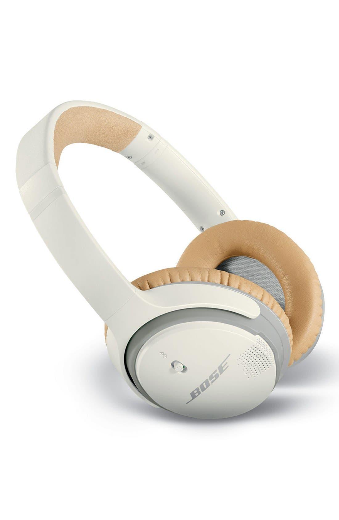 BOSE<SUP>®</SUP>, SoundLink<sup>®</sup> II Around-Ear Bluetooth<sup>®</sup> Headphones, Alternate thumbnail 2, color, WHITE
