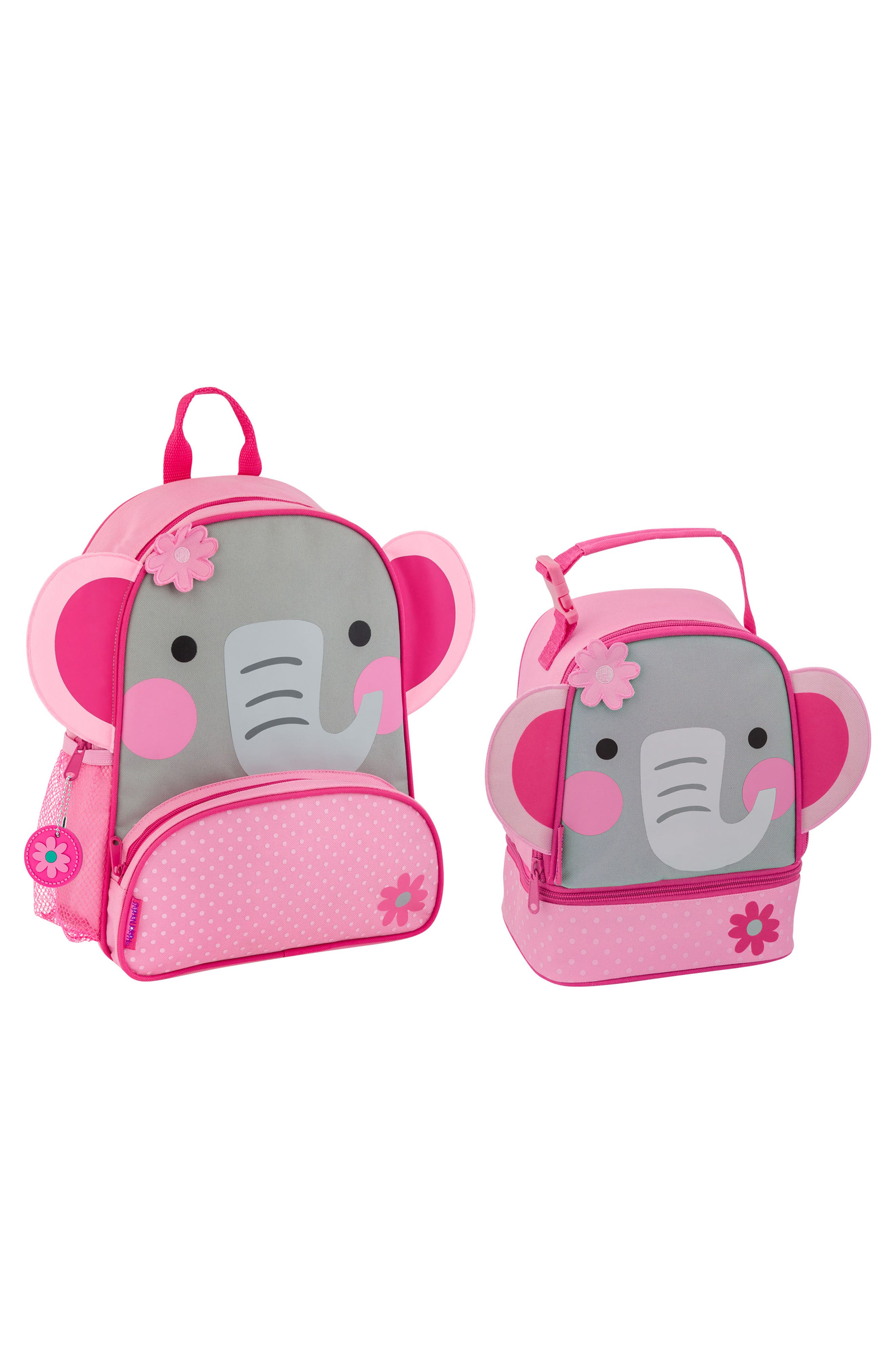 Girls Stephen Joseph Mermaid Sidekick Backpack  Lunch Pal  Pink