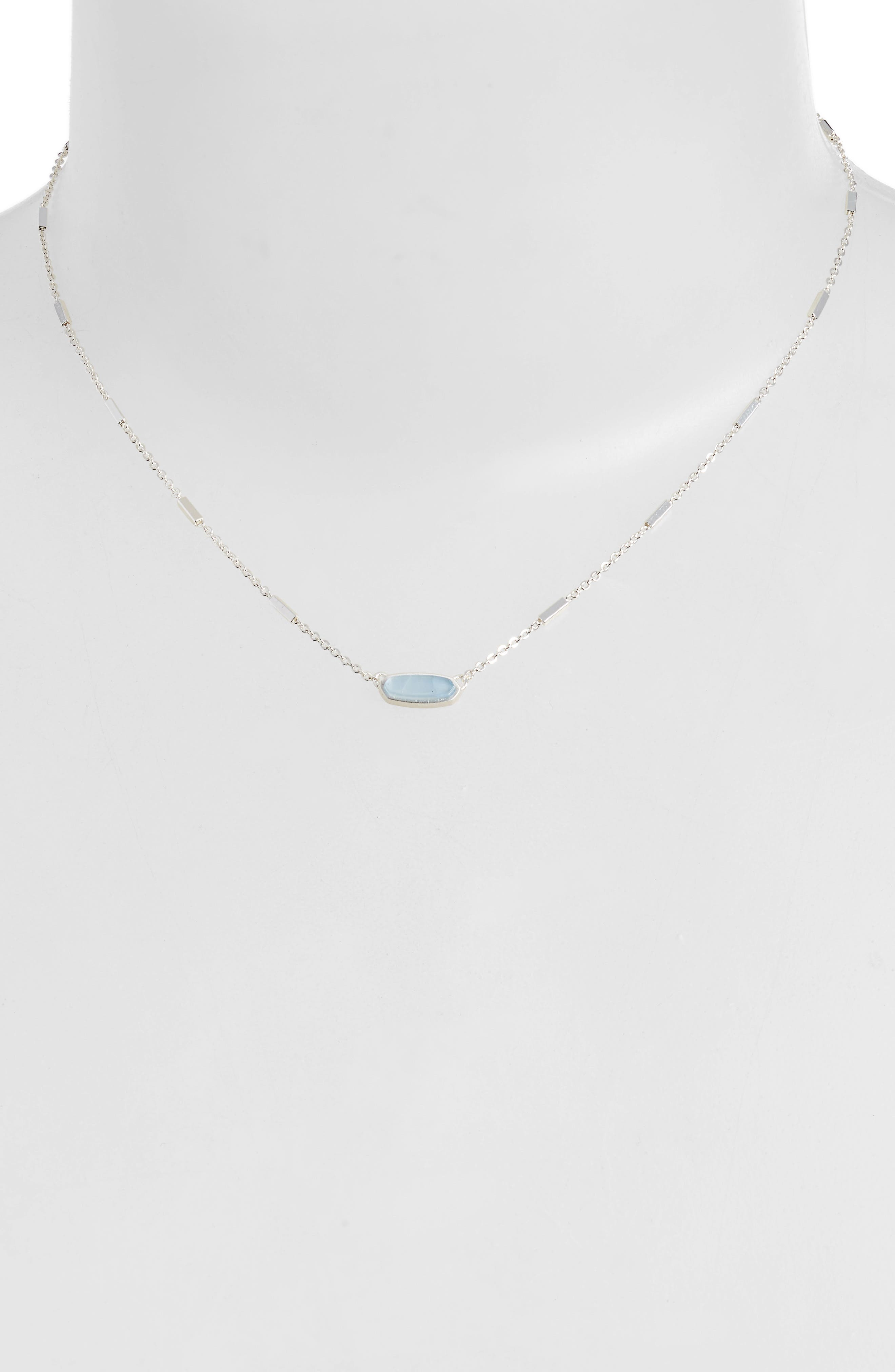 KENDRA SCOTT Miya East/West Pendant Necklace, Main, color, 400