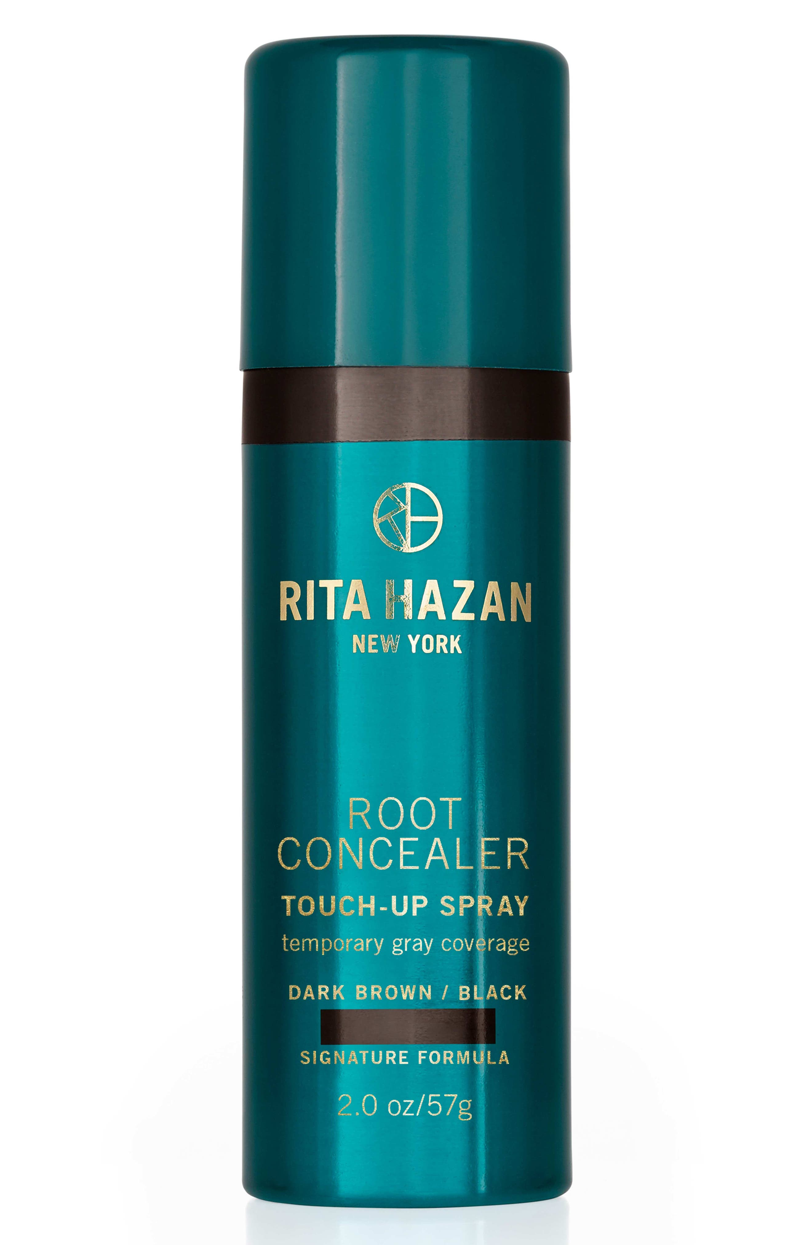 RITA HAZAN NEW YORK, Root Concealer Touch-Up Spray, Main thumbnail 1, color, DARK BROWN