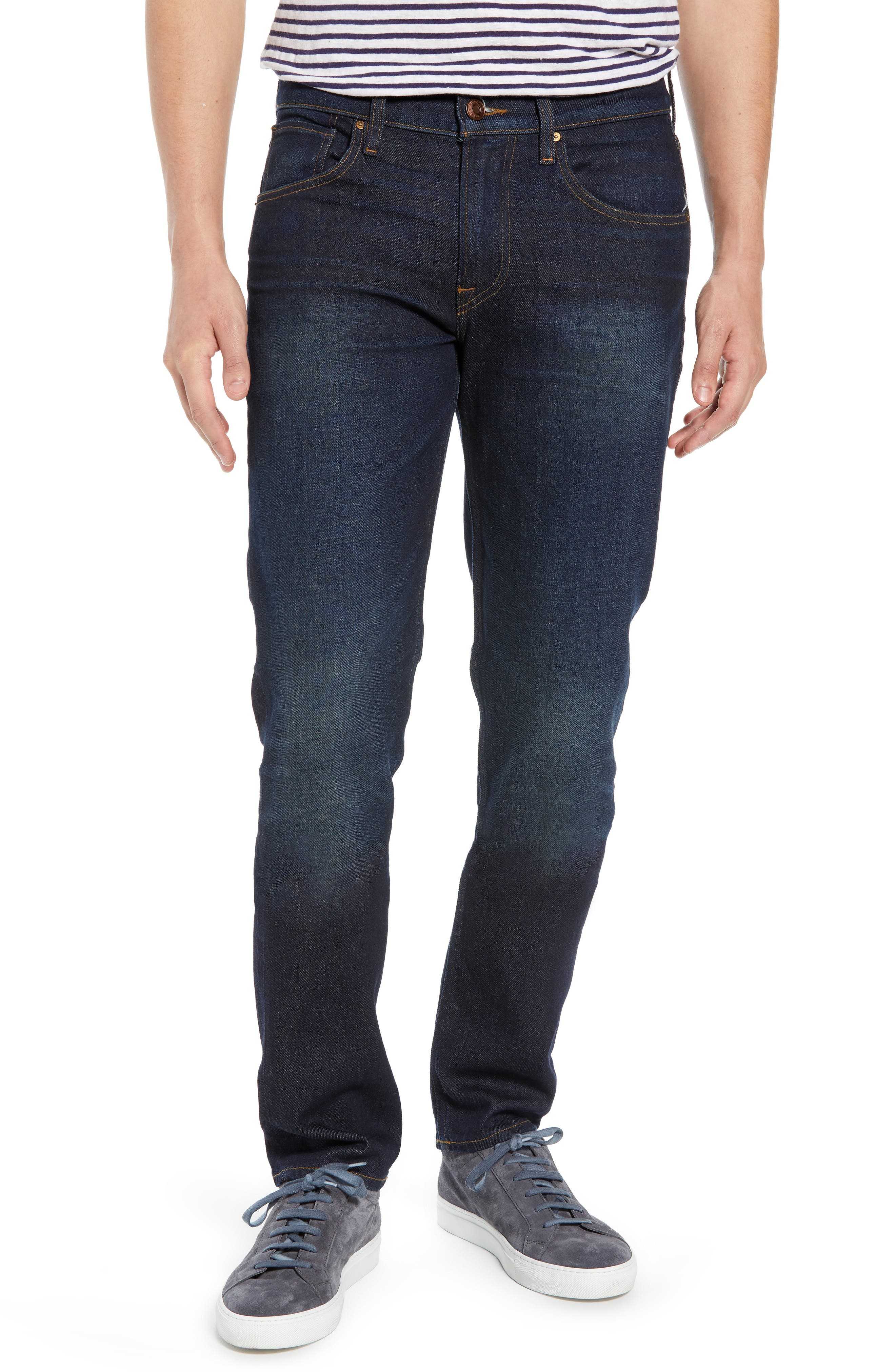 HUDSON JEANS Blake Slim Fit Jeans, Main, color, VERKLER