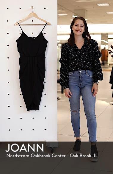 Print Faux Wrap Dress, sales video thumbnail