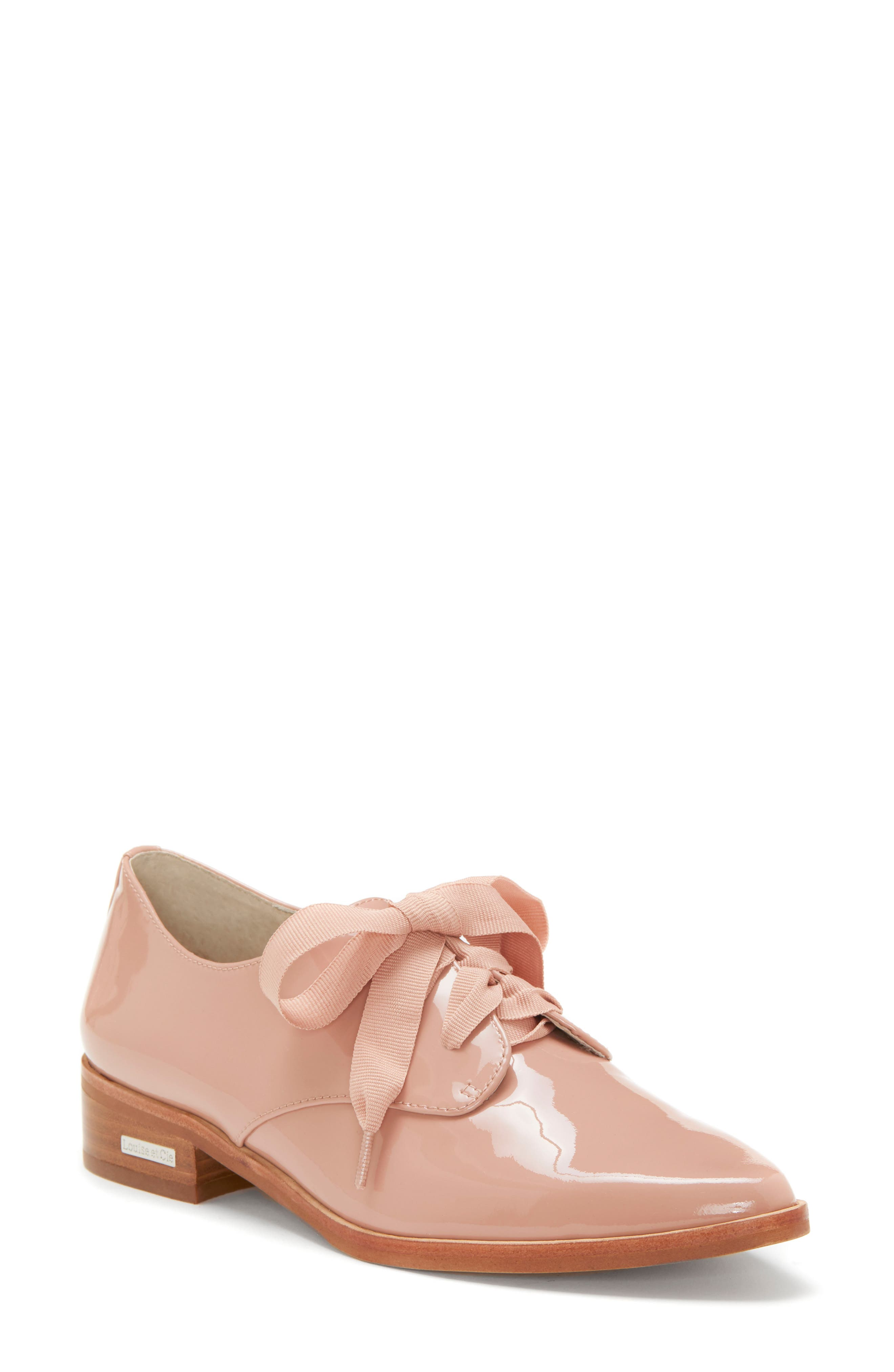 LOUISE ET CIE, Adwin Almond Toe Oxford, Main thumbnail 1, color, FOUNDATION PATENT