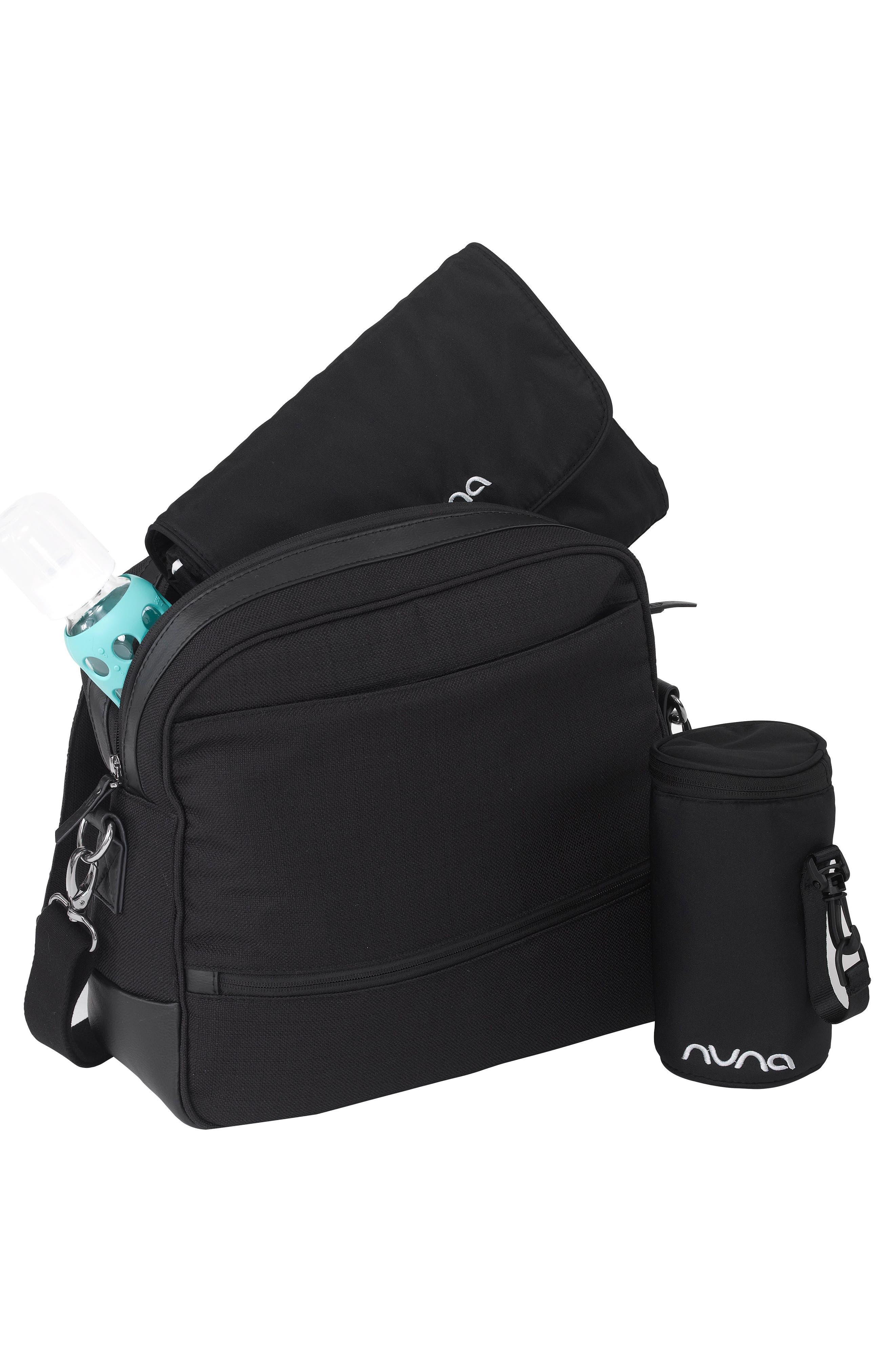 NUNA, Convertible Diaper Bag, Alternate thumbnail 3, color, CAVIAR