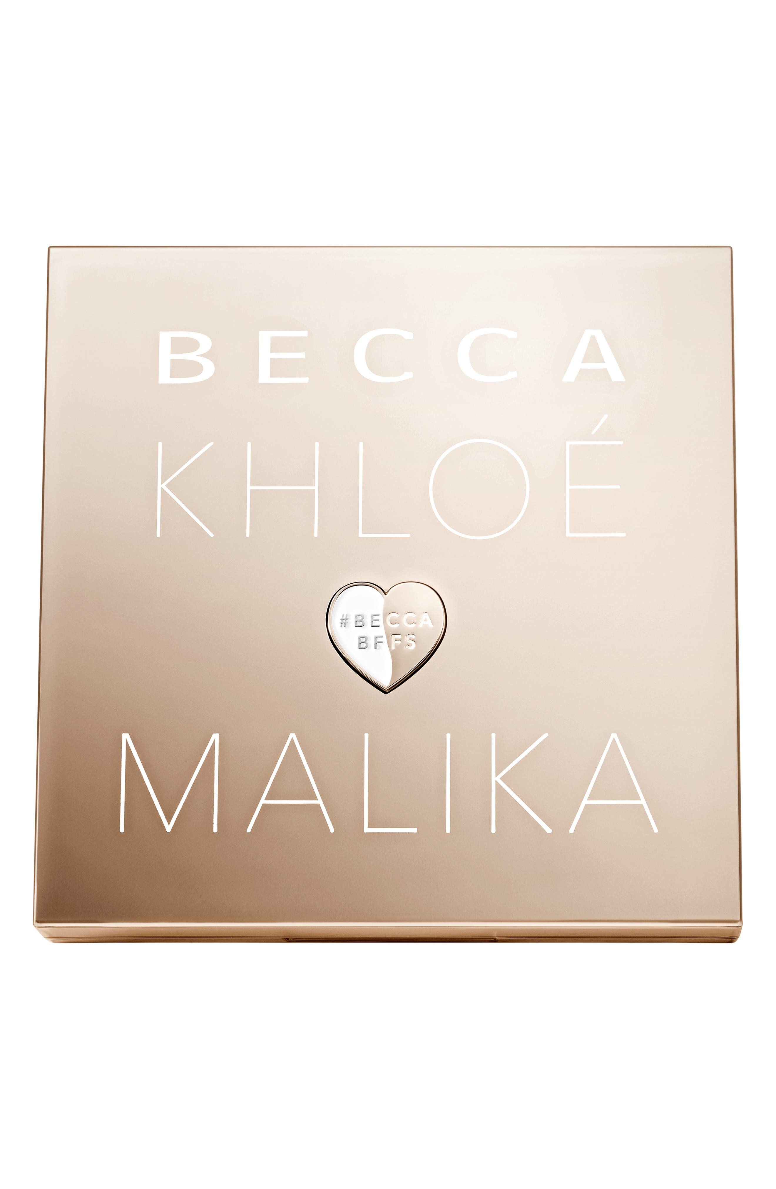 BECCA COSMETICS, BECCA x Khloé Kardashian & Malika Haqq Bronze, Blush & Glow Palette, Alternate thumbnail 5, color, KHLOE