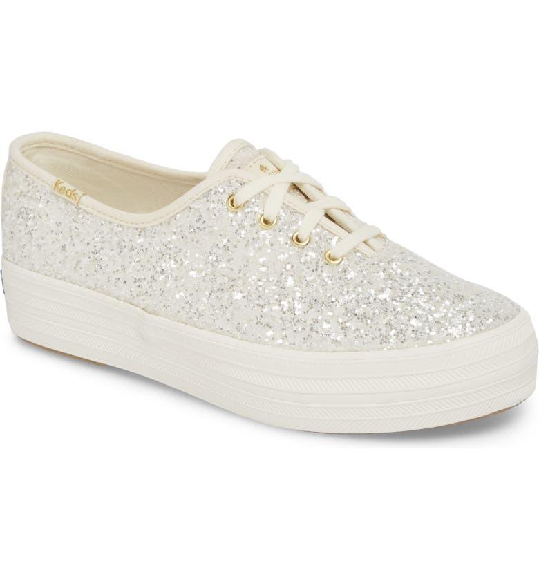 d21dfd6d7e8a Keds® for kate spade new york triple decker glitter sneaker (Women ...