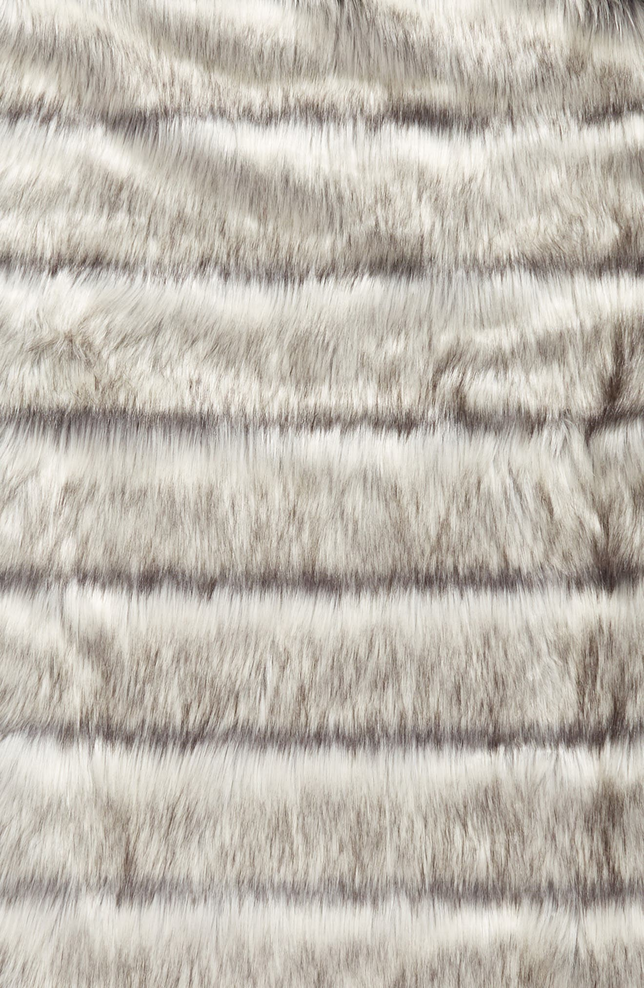 NORDSTROM AT HOME, Luxe Faux Fur Slumber Bag, Alternate thumbnail 2, color, GREY FROST MULTI