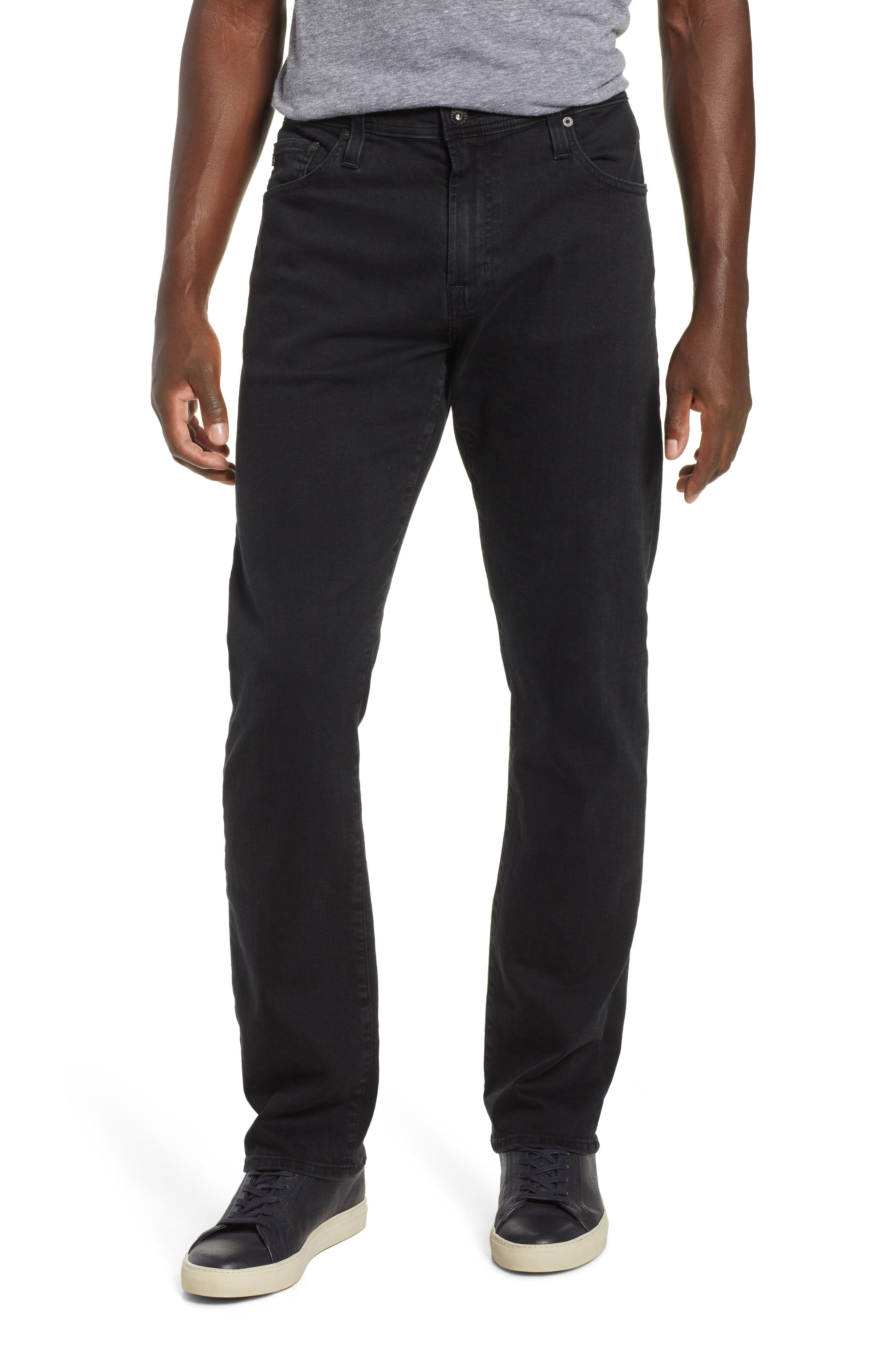 AG Ives Straight Leg Jeans, Main, color, BRIMSTONE