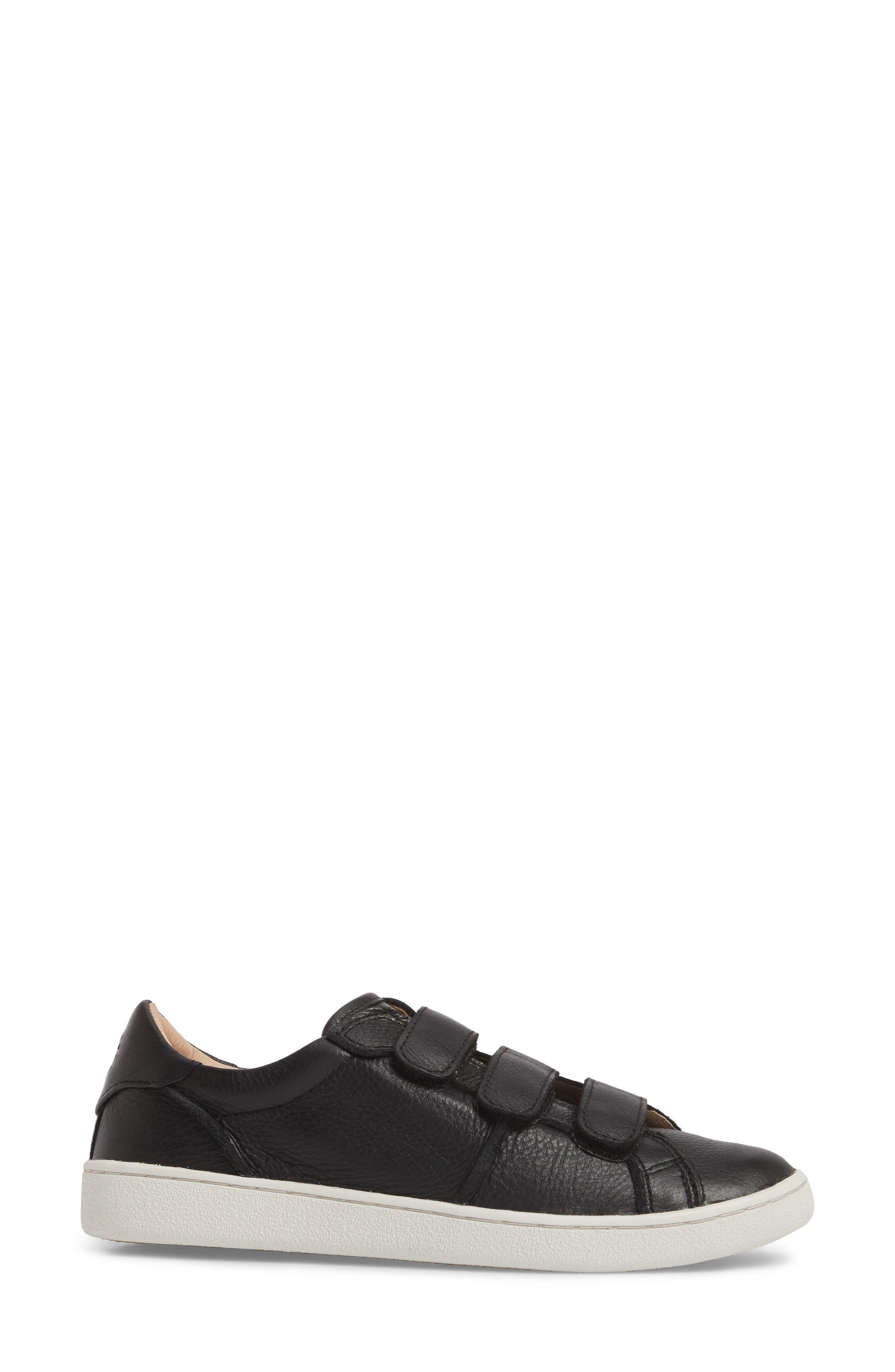 UGG<SUP>®</SUP>, Alix Sneaker, Alternate thumbnail 3, color, 001