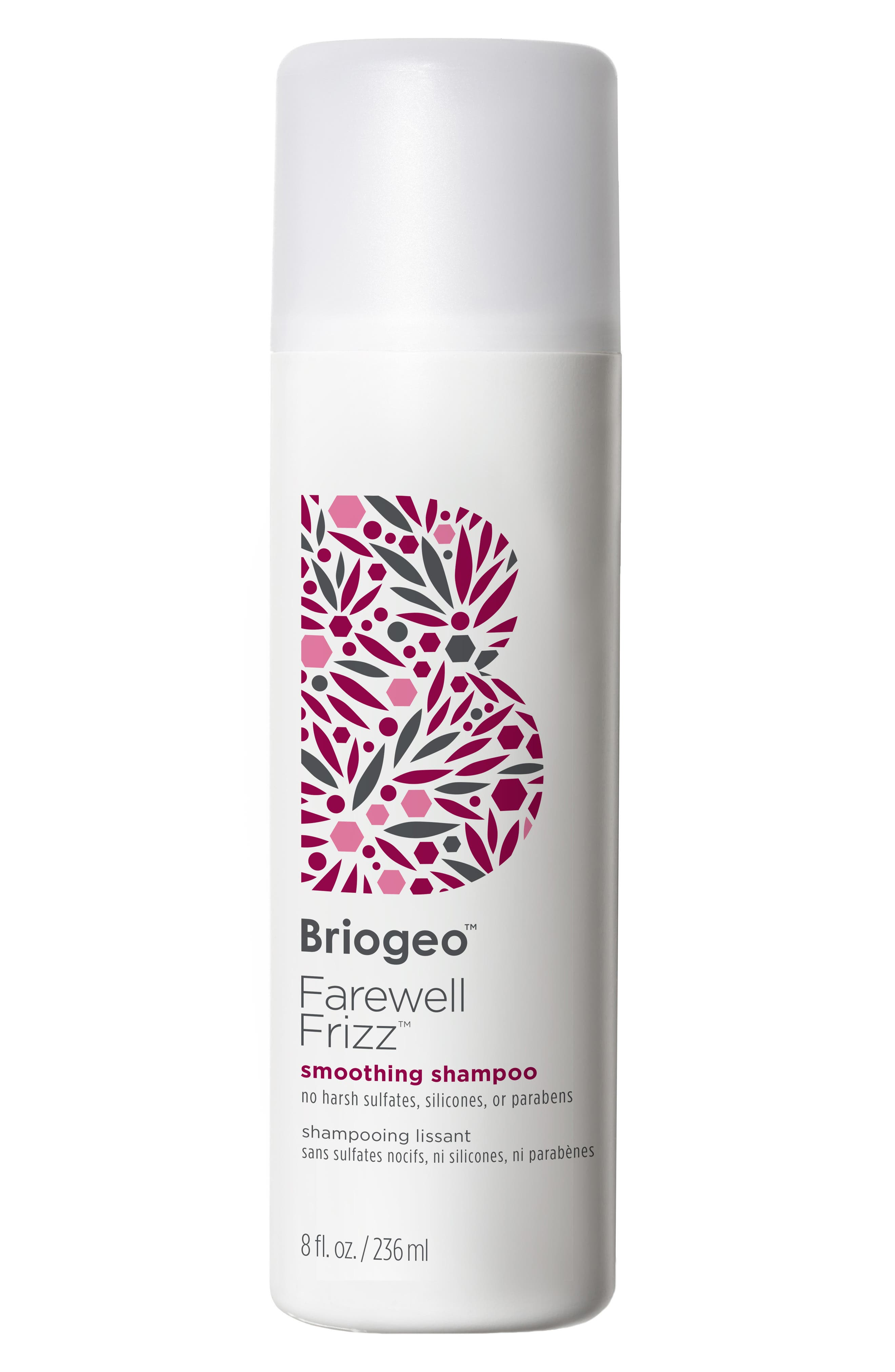 BRIOGEO, Farewell Frizz Smoothing Shampoo, Main thumbnail 1, color, NO COLOR