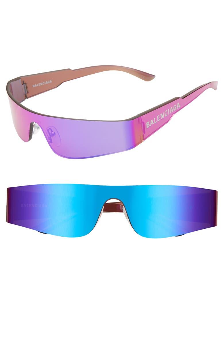 0c1502eaef72a Balenciaga 99mm Shield Sunglasses