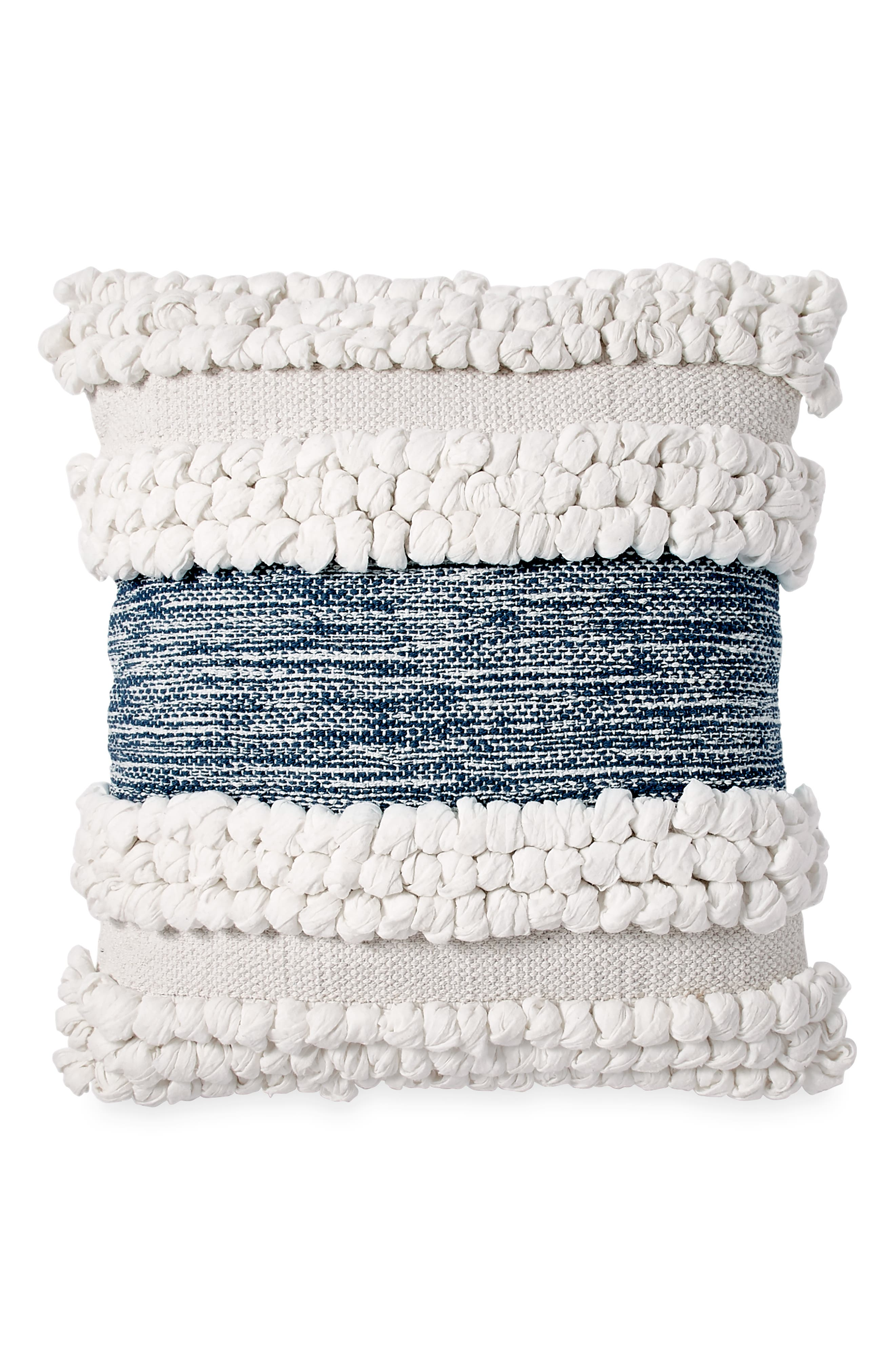 DKNY Woven Accent Pillow, Main, color, IVORY