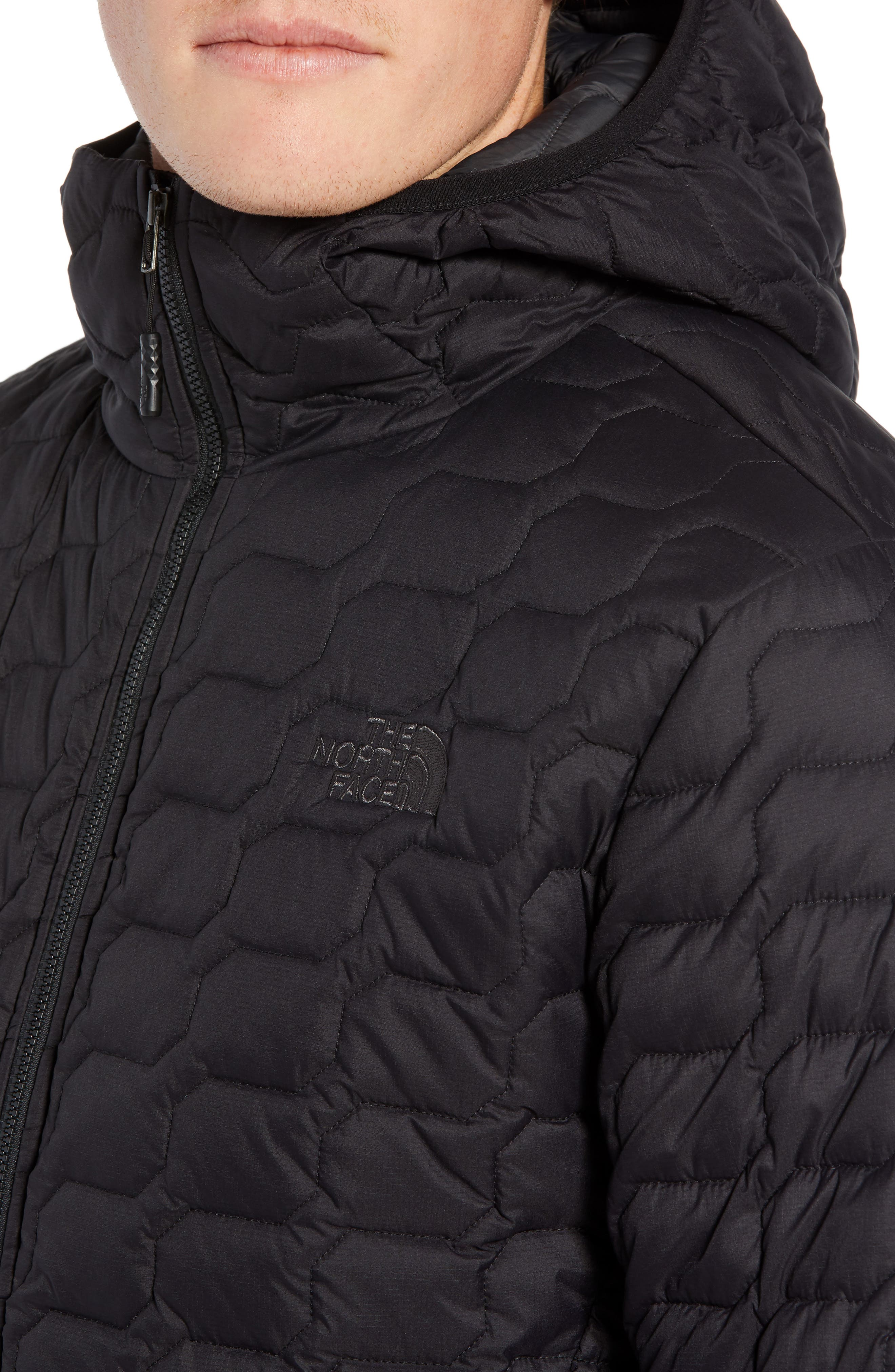THE NORTH FACE, ThermoBall<sup>™</sup> Zip Hoodie, Alternate thumbnail 5, color, 001