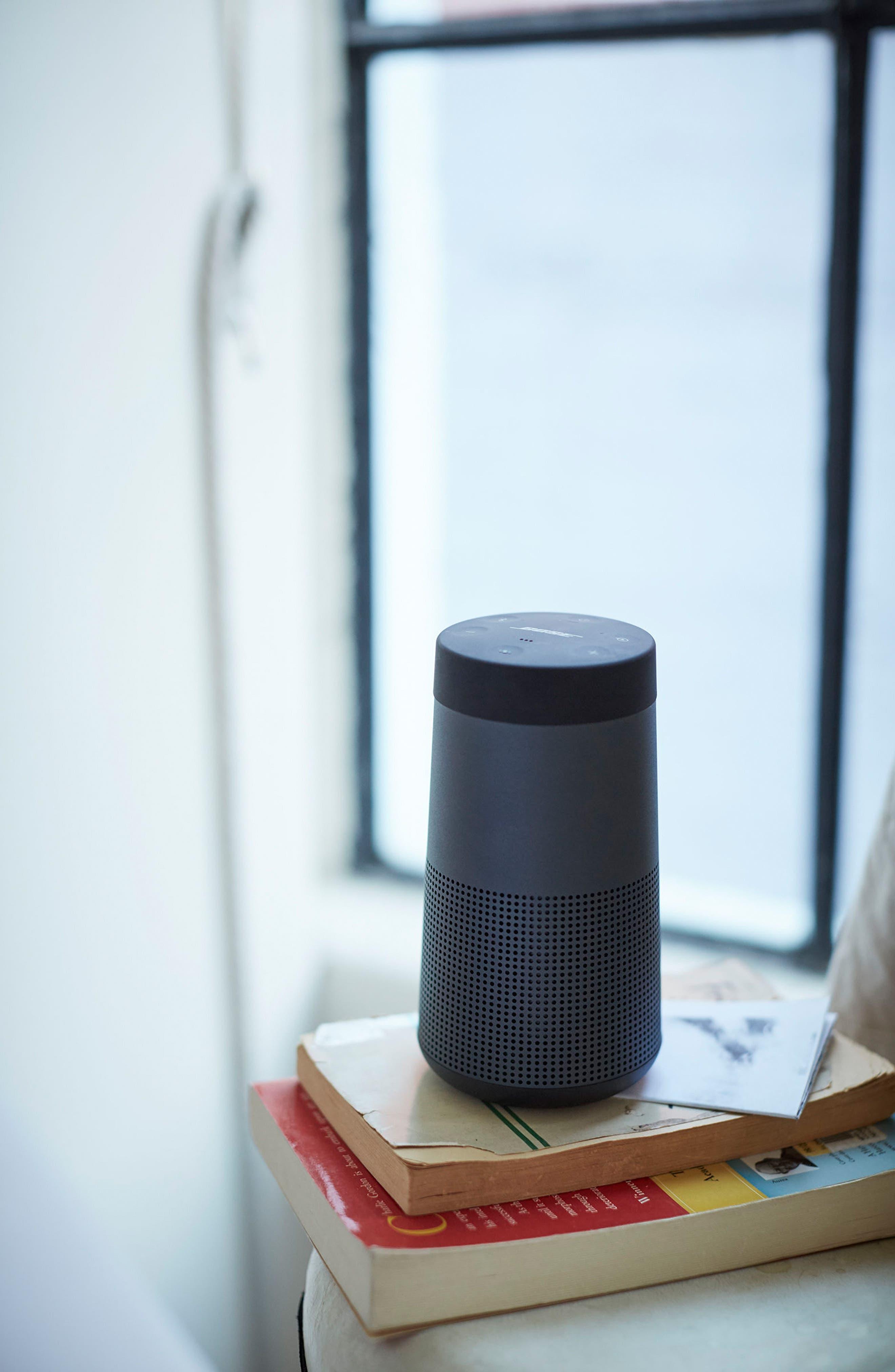 BOSE<SUP>®</SUP>, SoundLink<sup>®</sup> Revolve Bluetooth<sup>®</sup> Speaker, Alternate thumbnail 10, color, BLACK