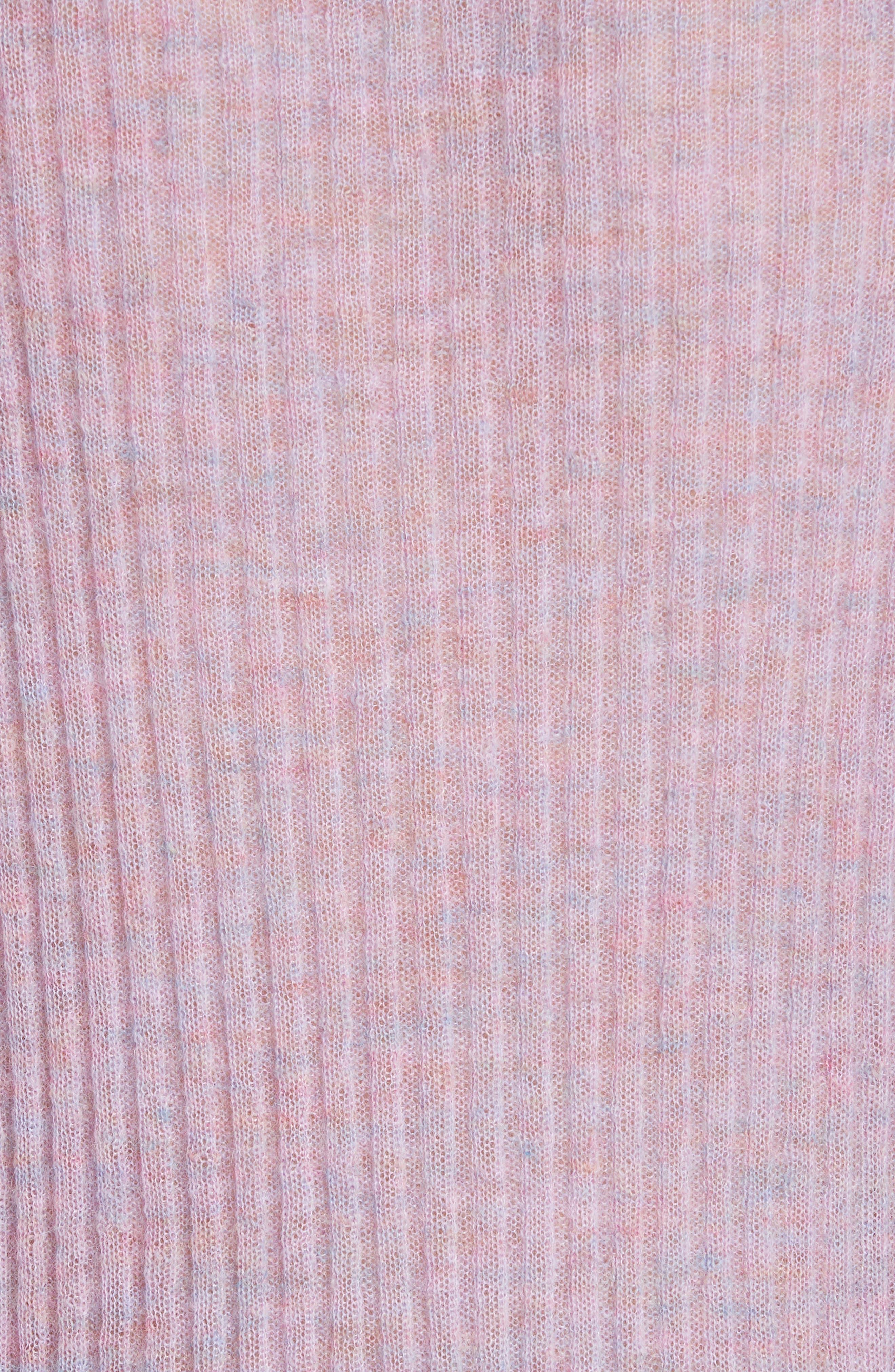 RAG & BONE, Donna Mohair Blend Sweater, Alternate thumbnail 5, color, LILAC