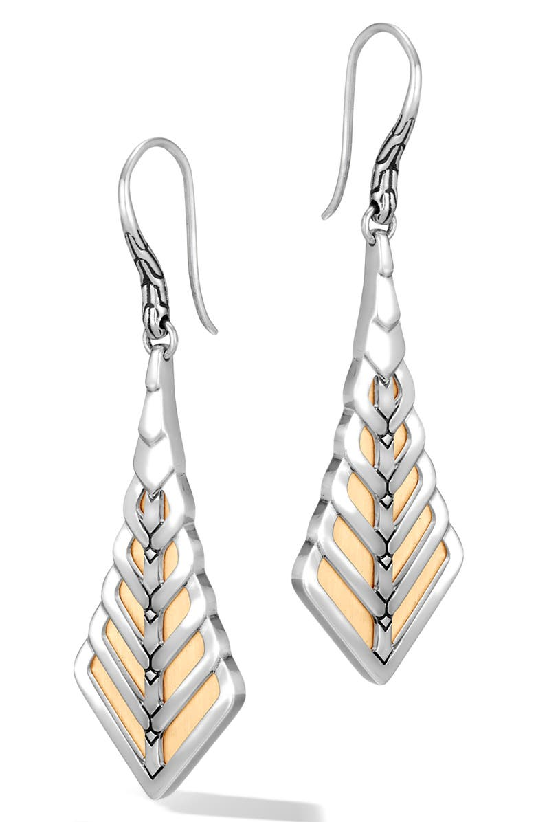 John Hardy Accessories MODERN CHAIN DROP EARRINGS