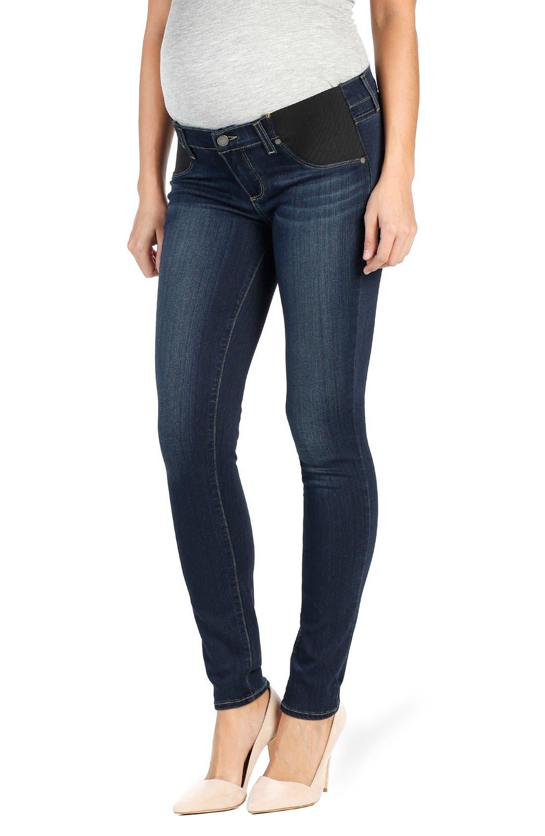 Women's Paige 'Transcend - Verdugo' Ultra Skinny Maternity Jeans