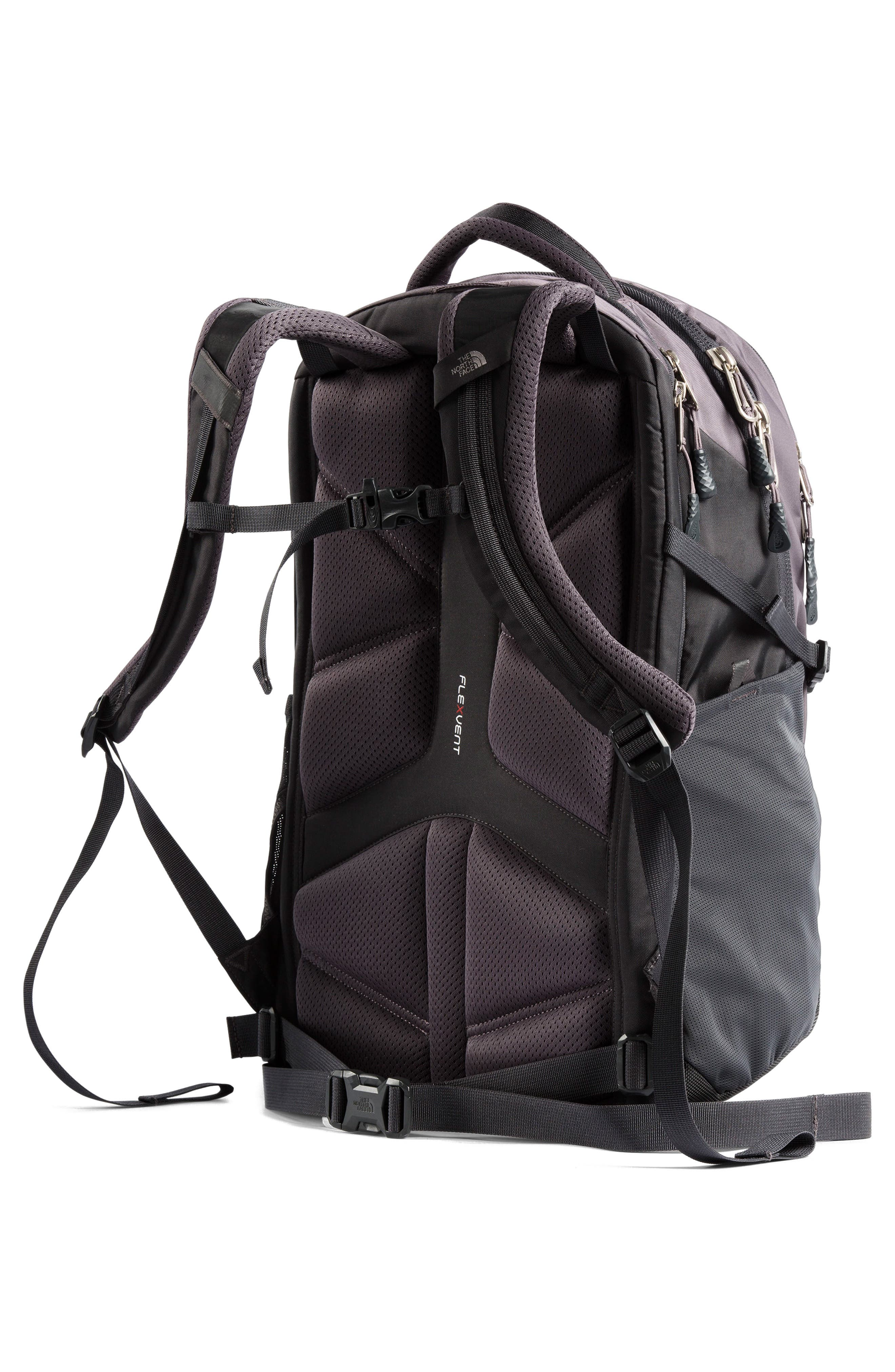 THE NORTH FACE, Recon Backpack, Alternate thumbnail 5, color, RABBIT GREY/ GREY