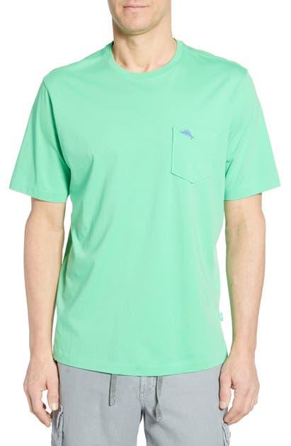 Tommy Bahama T-shirts 'NEW BALI SKY' ORIGINAL FIT CREWNECK POCKET T-SHIRT