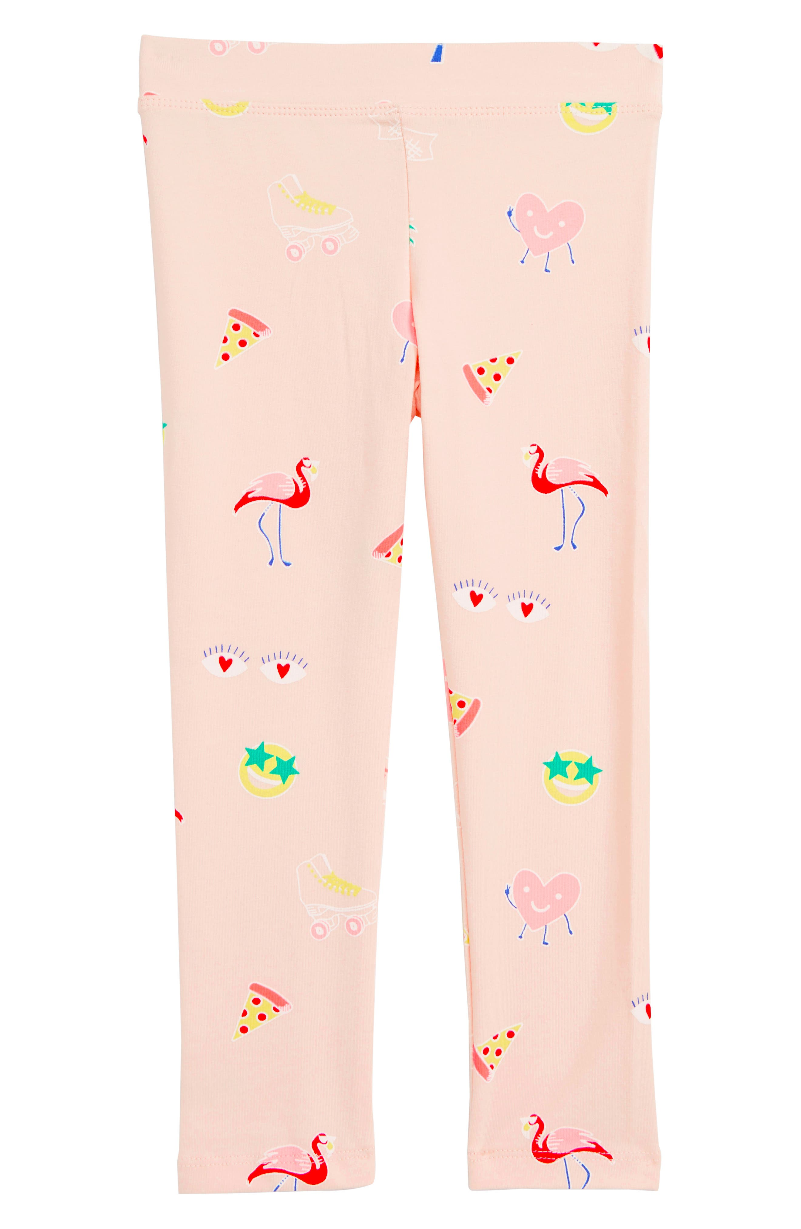 CREWCUTS BY J.CREW, Everyday Leggings, Main thumbnail 1, color, PINK MULTI GILRS DO FUN STUFF