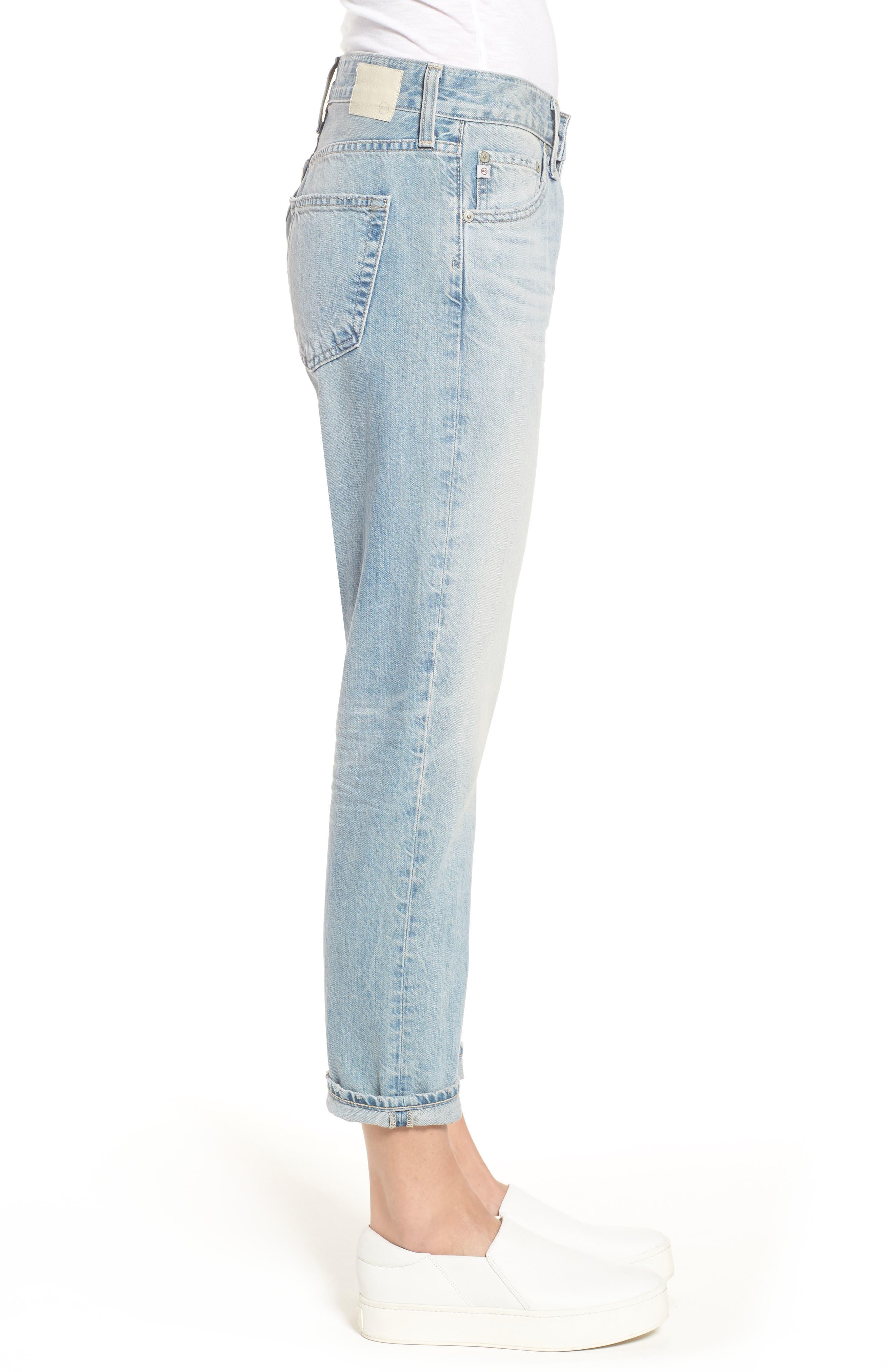 AG, 'The Ex Boyfriend' Slim Jeans, Alternate thumbnail 4, color, 469