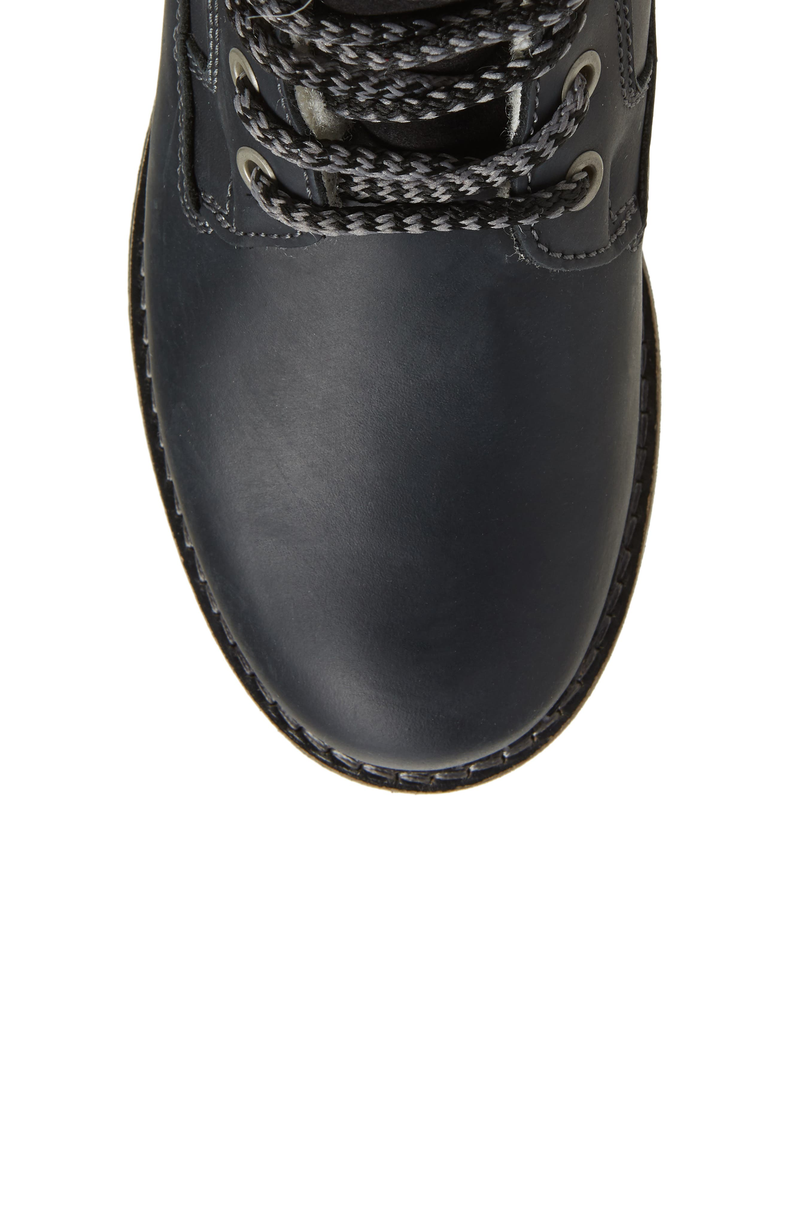 BOS. & CO., Holland Waterproof Boot, Alternate thumbnail 5, color, BLACK OIL SUEDE