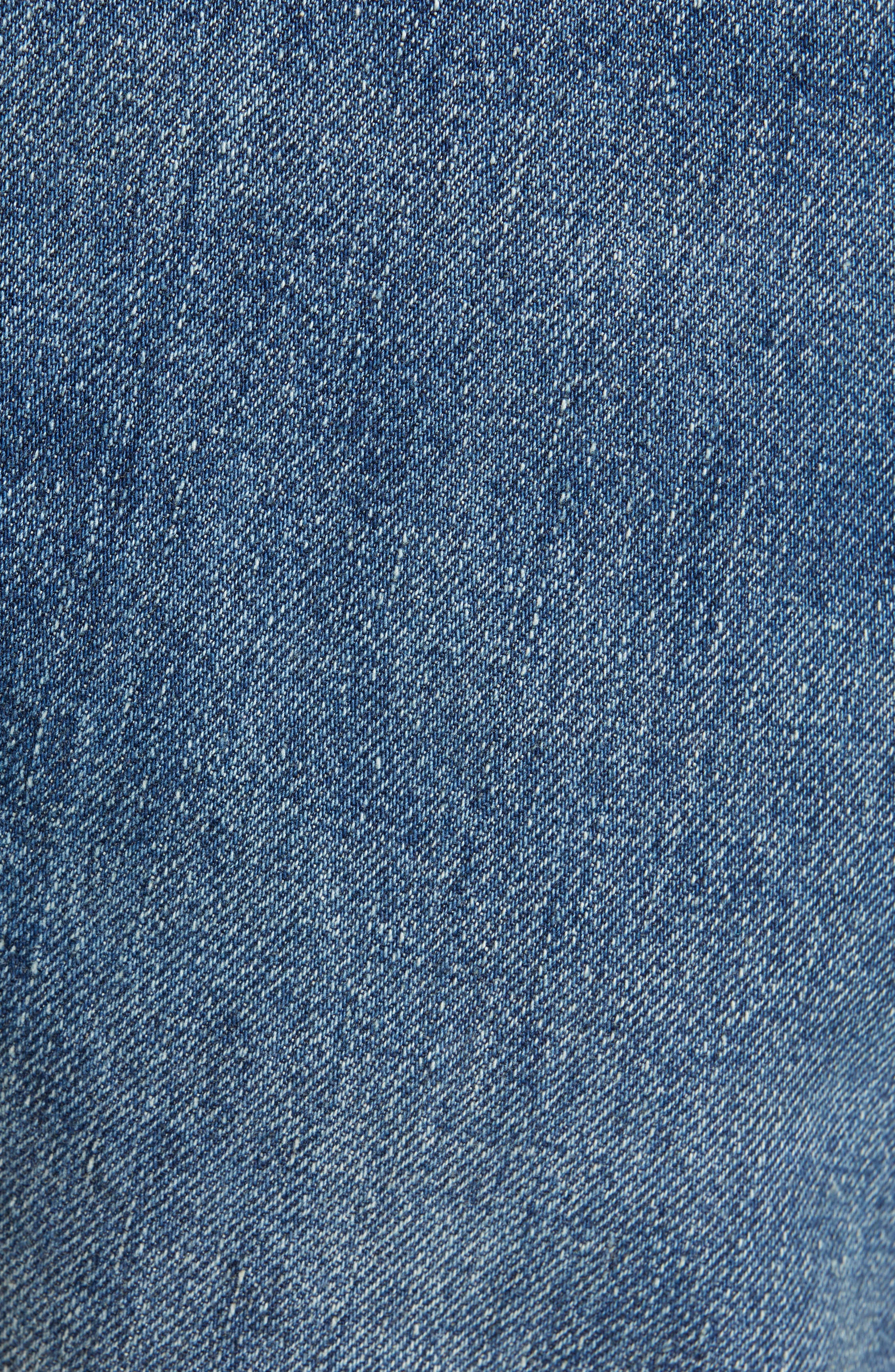 LEVI'S<SUP>®</SUP> VINTAGE CLOTHING, 1954 501<sup>®</sup> Straight Leg Jeans, Alternate thumbnail 6, color, PINWHEEL