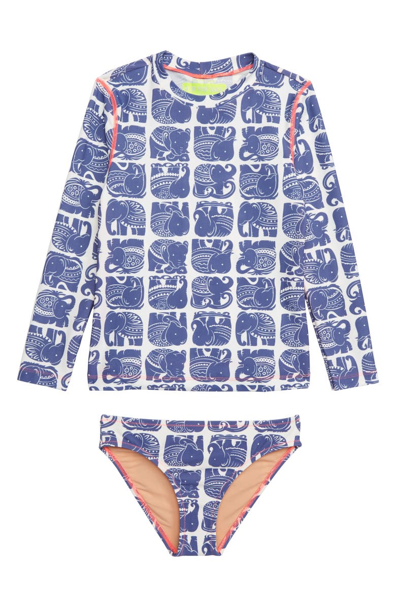 e458d5aa322f1 crewcuts by J.Crew Two-Piece Rashguard Swimsuit (Toddler Girls ...