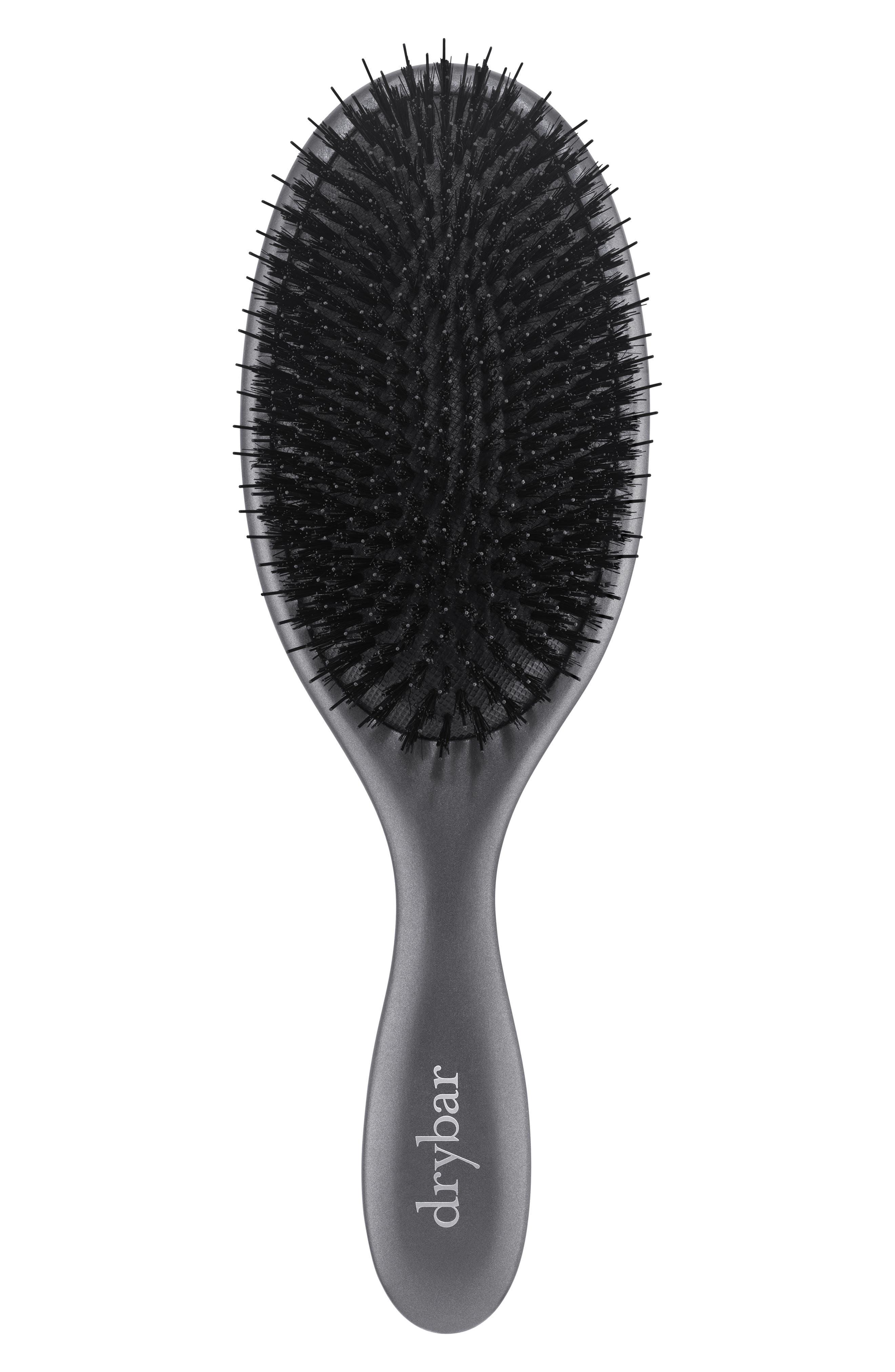 DRYBAR Flat Mate Boar Bristle Brush, Main, color, NO COLOR