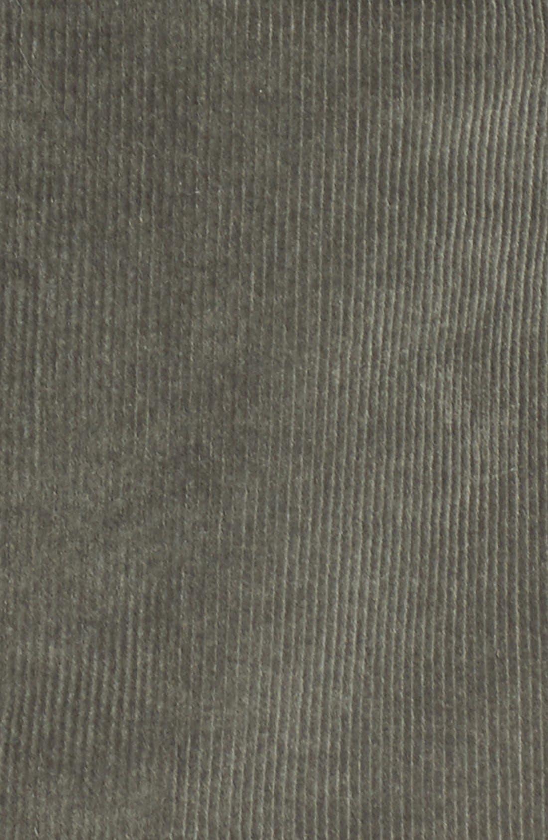 JOLT, Corduroy A-Line Skirt, Alternate thumbnail 3, color, 300