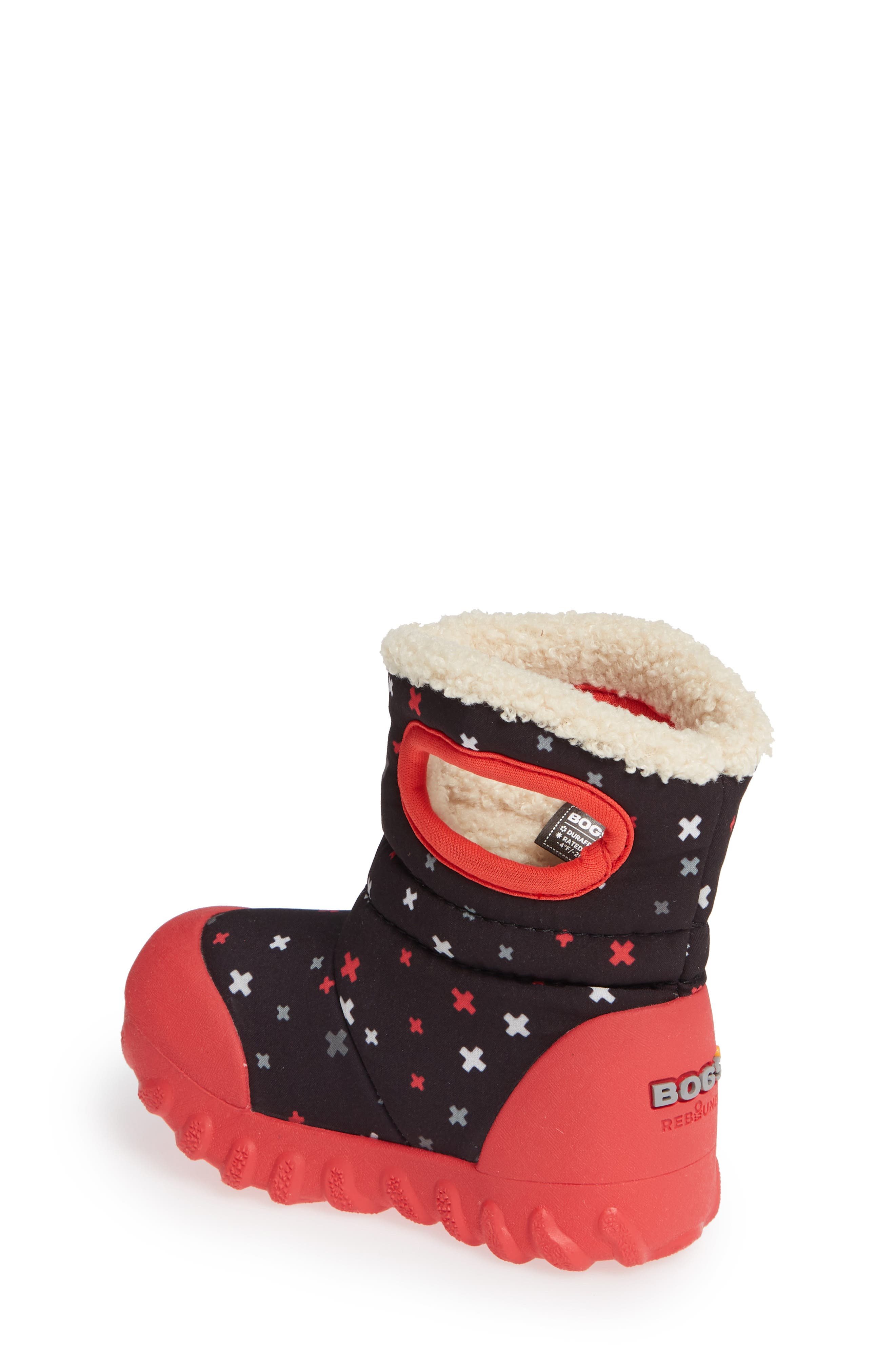 BOGS, B-MOC Plus Waterproof Insulated Faux Fur Boot, Alternate thumbnail 2, color, 009
