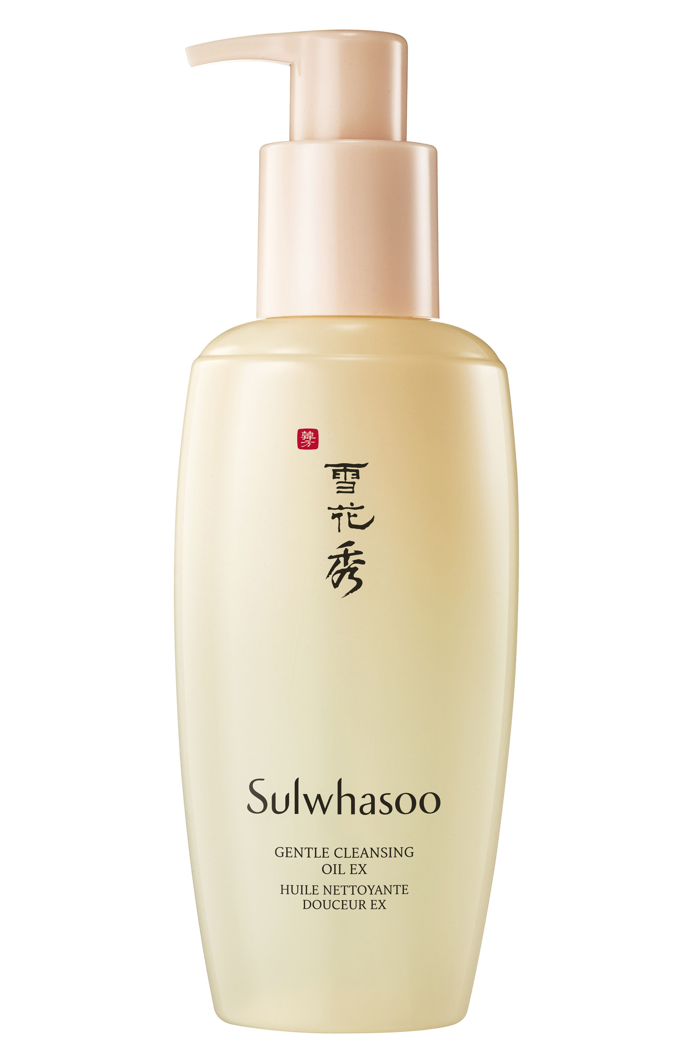 SULWHASOO, Gentle Cleansing Oil EX, Main thumbnail 1, color, NO COLOR