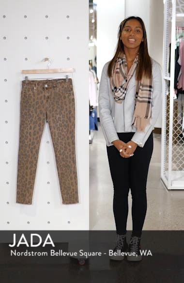 The Reade Leopard Crop Skinny Jeans, sales video thumbnail