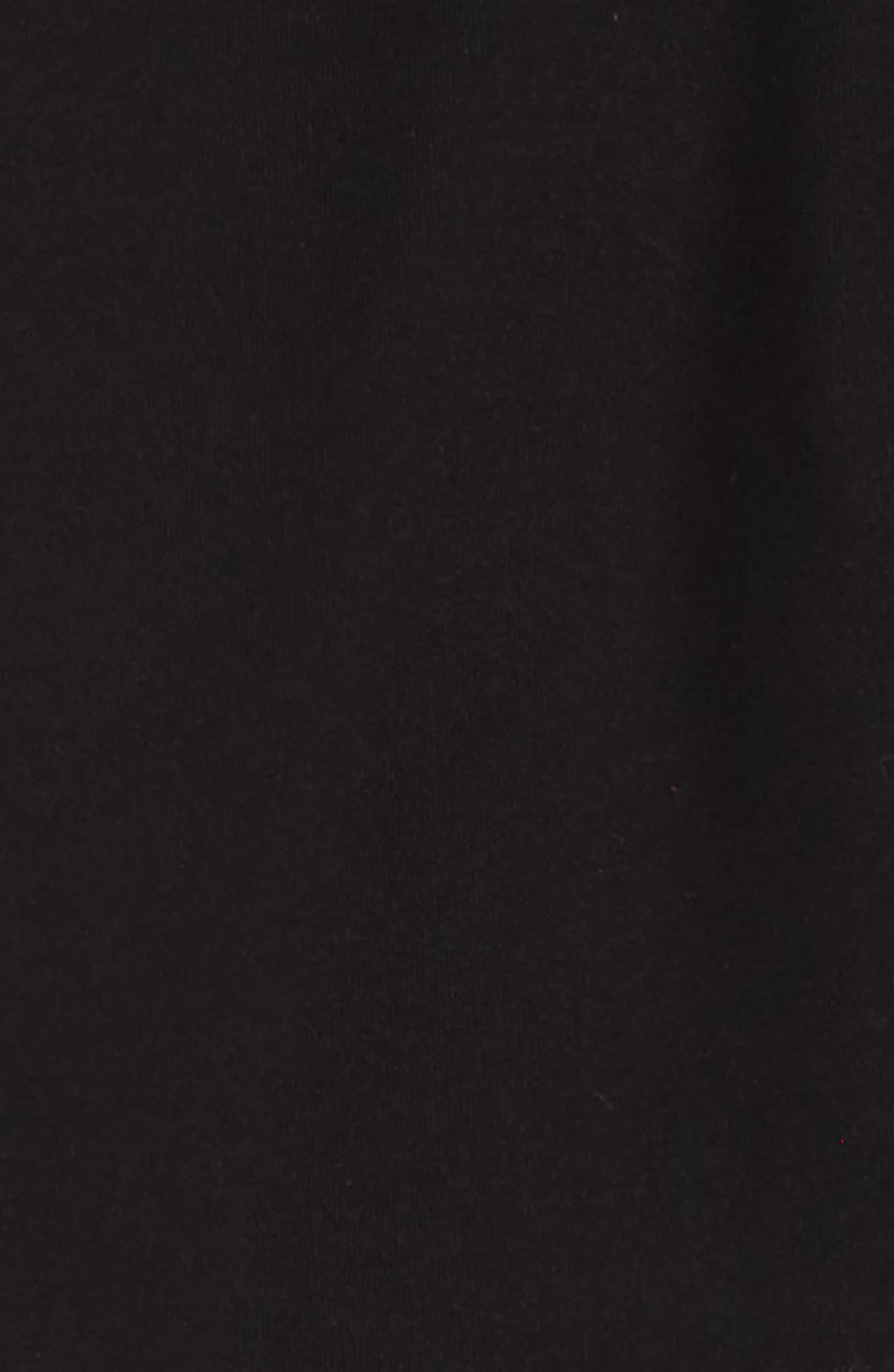 ZELLA GIRL, Everyday High Waist Leggings, Alternate thumbnail 2, color, BLACK