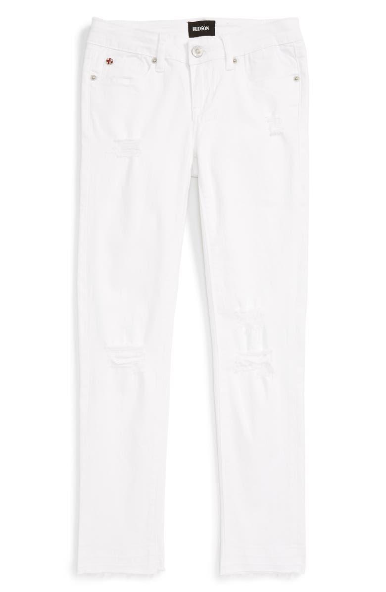 4735c94be Hudson Kids Seaside Crop Skinny Jeans (Big Girls)   Nordstrom