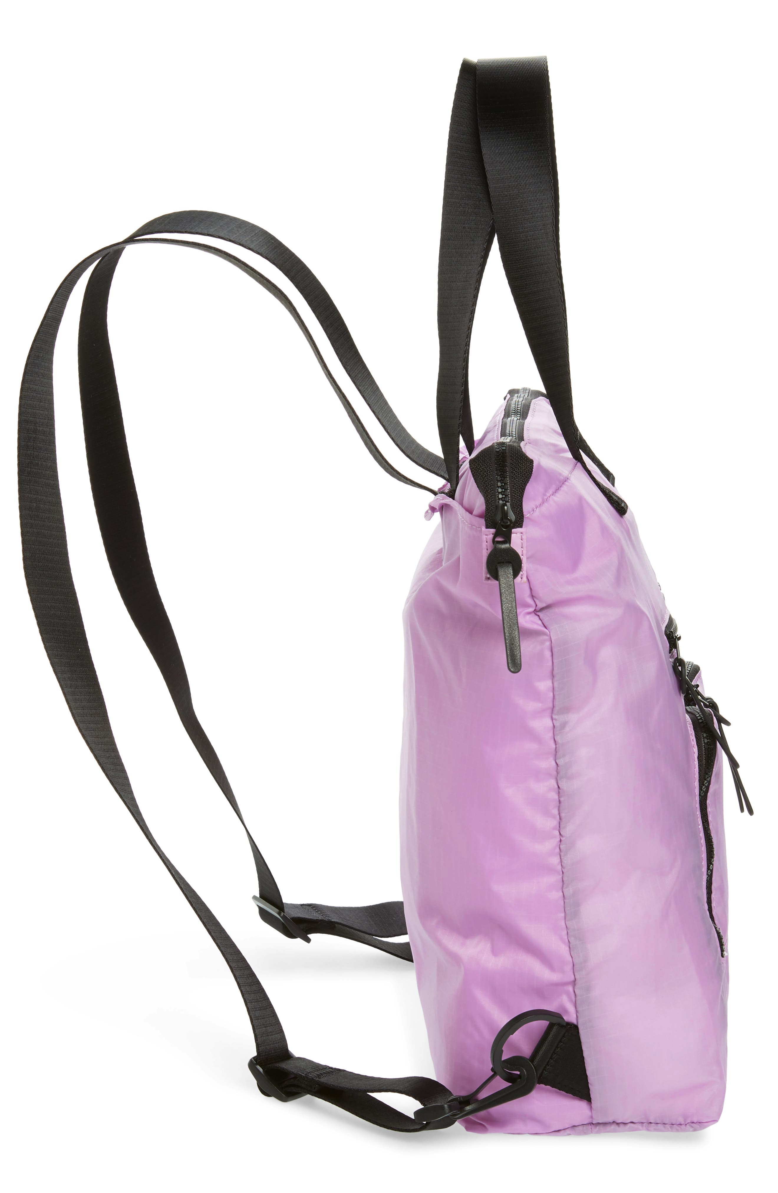 NORDSTROM, Packable Convertible Backpack, Alternate thumbnail 7, color, 530
