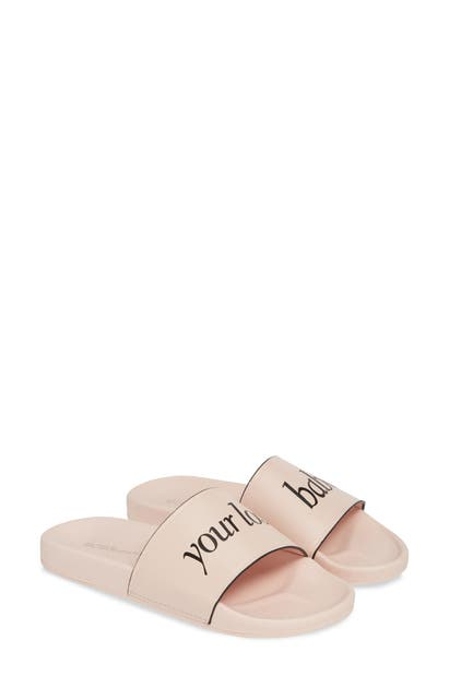 Bcbg YOUR LOSS, BABE SLIDE SANDALS