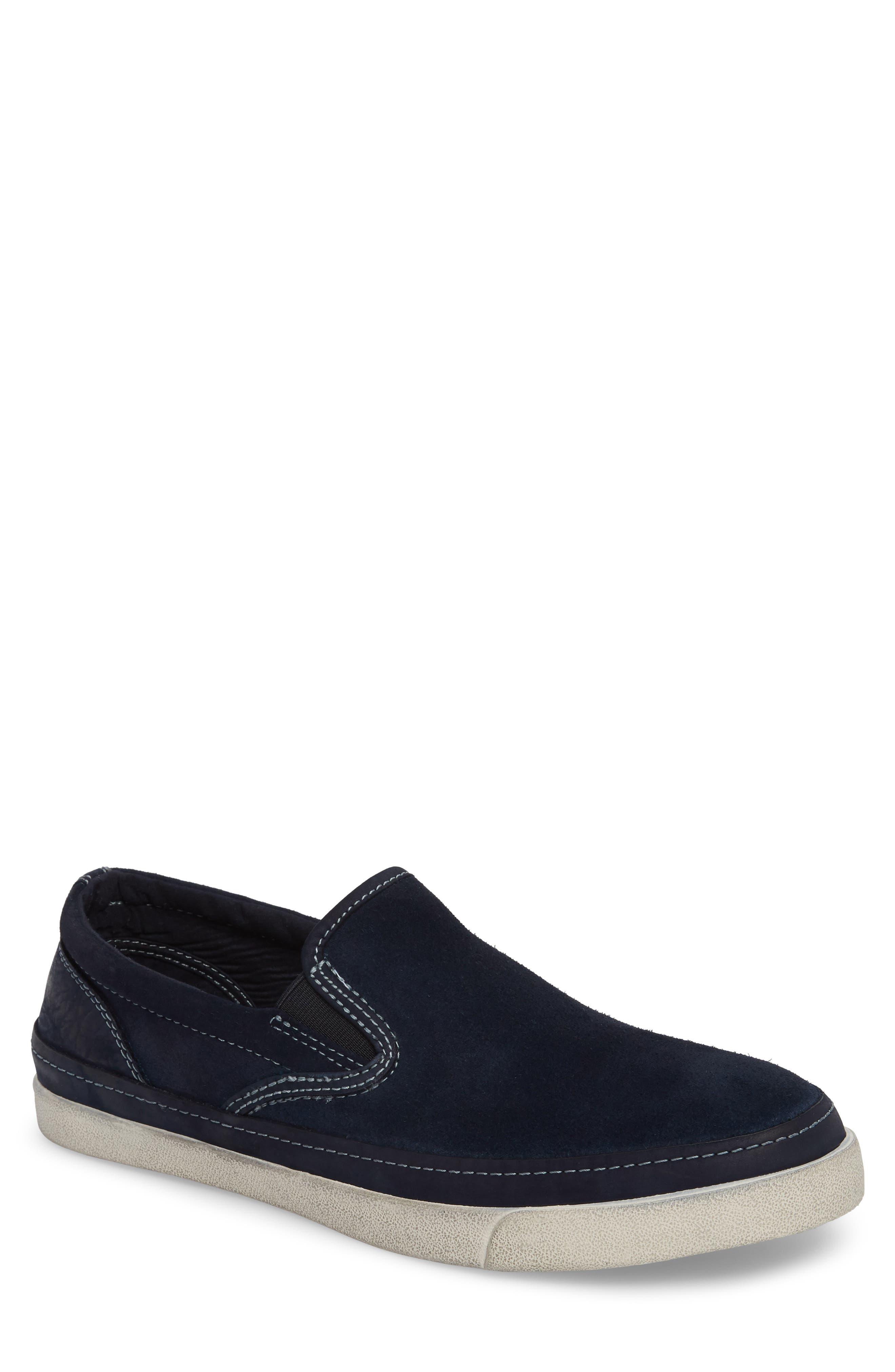 JOHN VARVATOS STAR USA Jett Slip-On Sneaker, Main, color, MIDNIGHT