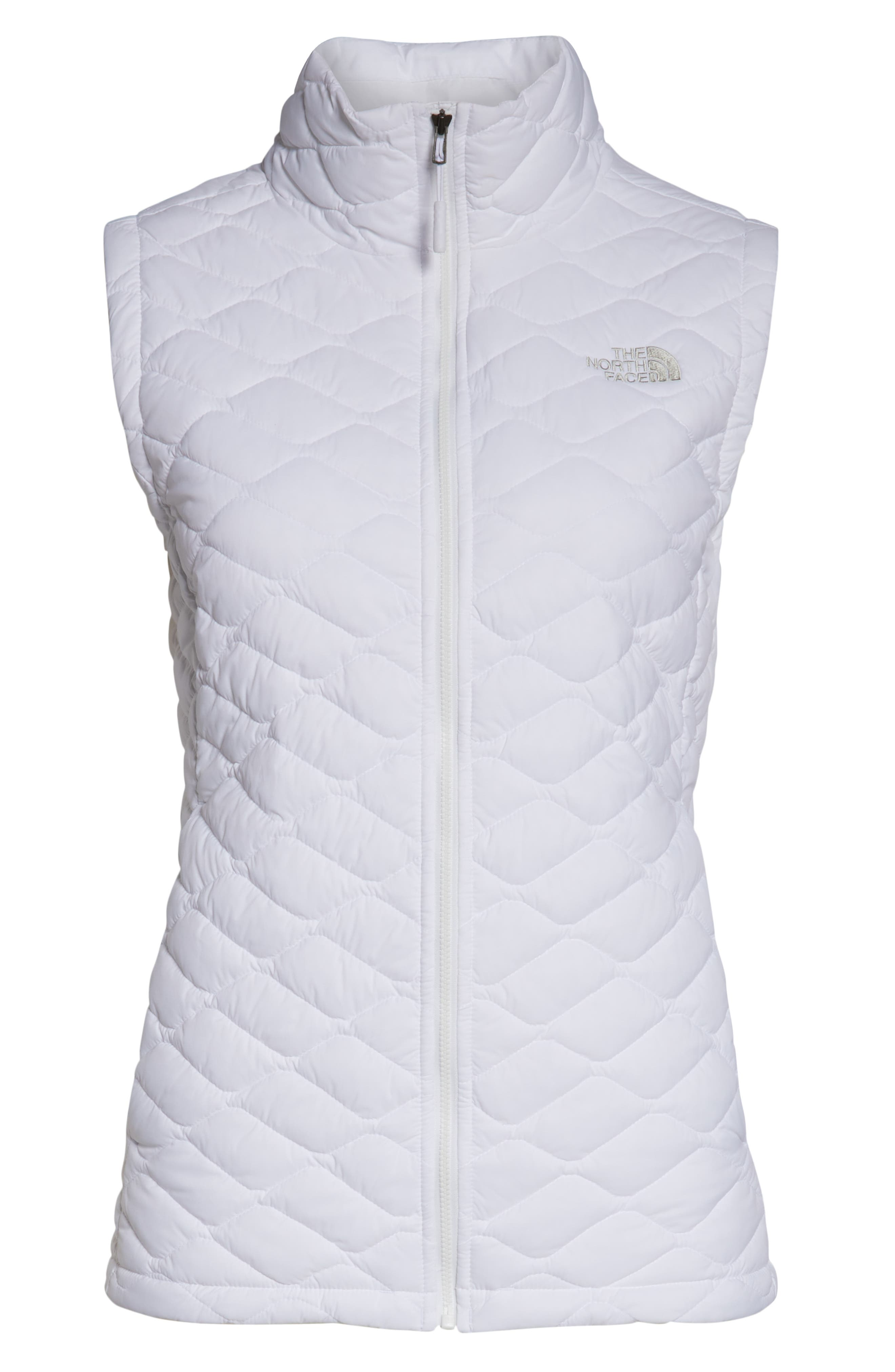 THE NORTH FACE, ThermoBall<sup>™</sup> PrimaLoft<sup>®</sup> Vest, Alternate thumbnail 6, color, TNF WHITE MATTE