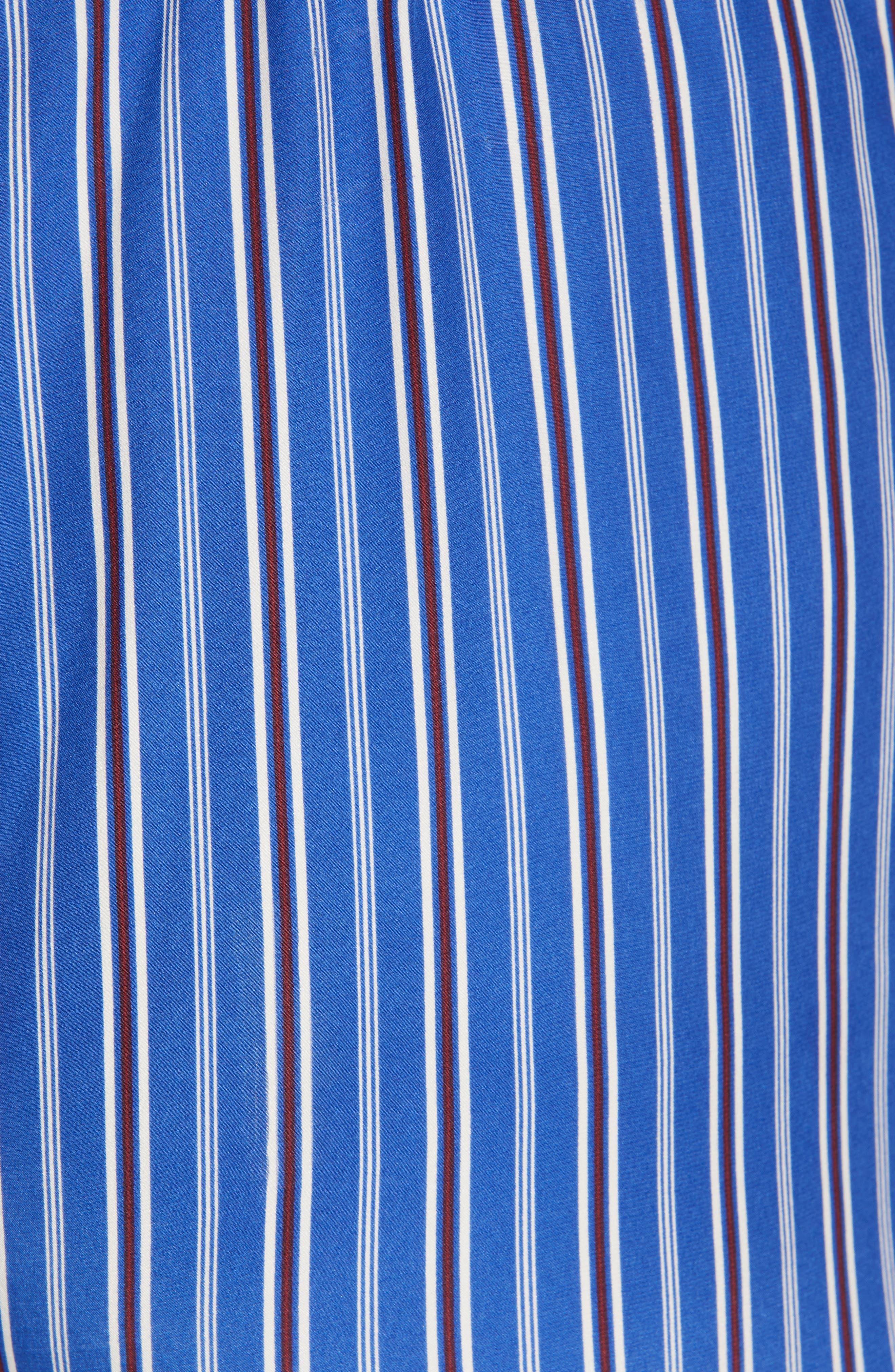 RAG & BONE, Felix Stripe Silk Jumpsuit, Alternate thumbnail 6, color, 474