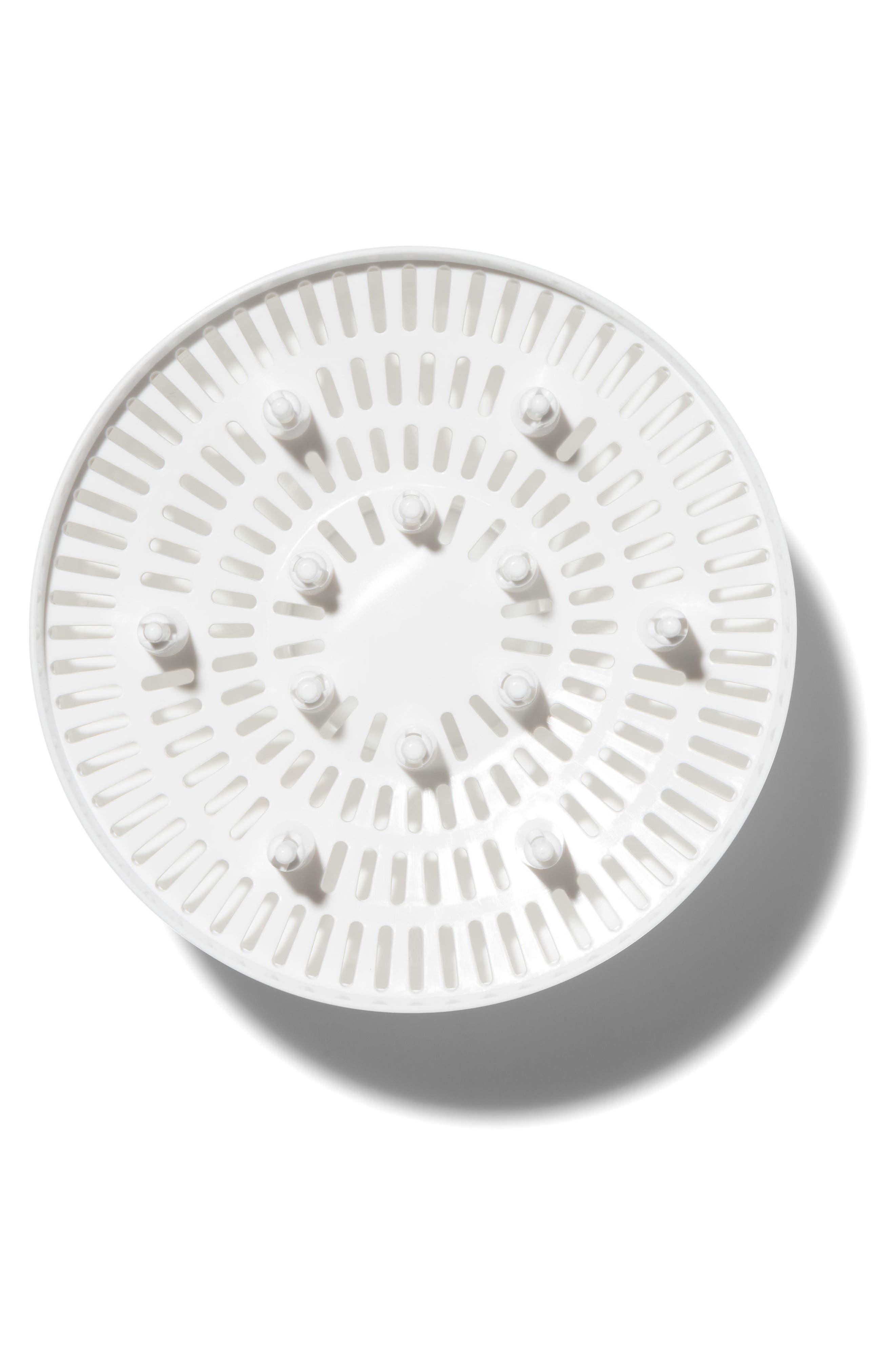 T3 White SoftCurl Diffuser, Main, color, WHITE/ ROSE GOLD