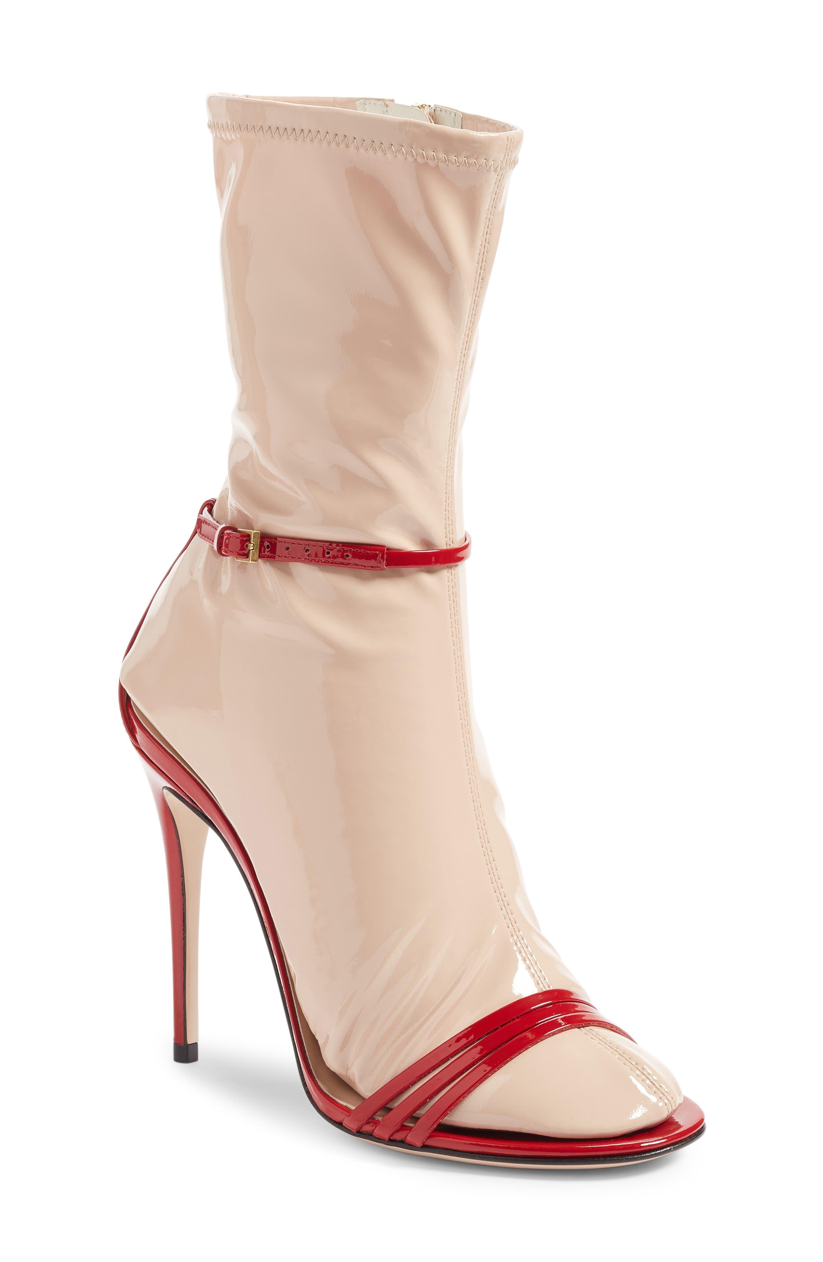 GUCCI, Ilse Sock Sandal, Main thumbnail 1, color, 600