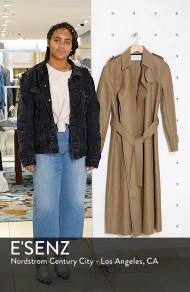 Long Belted Trench, sales video thumbnail
