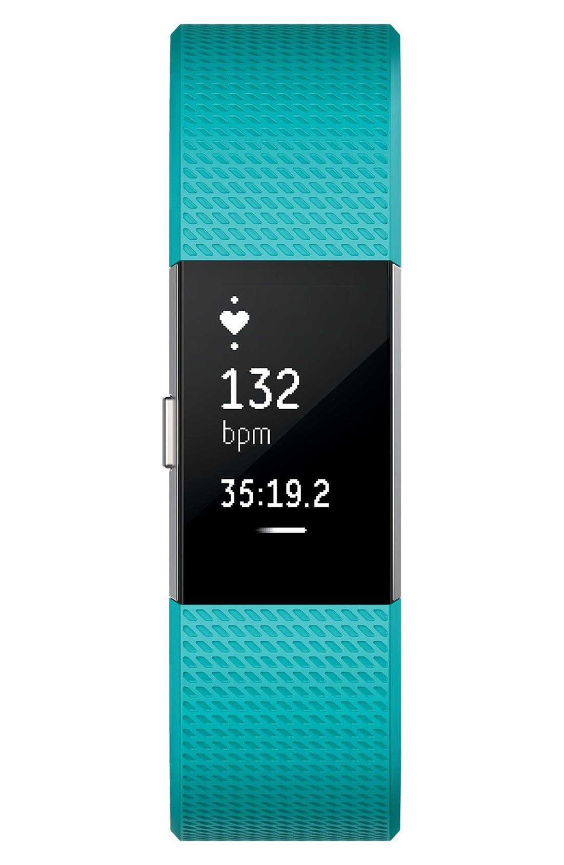 FITBIT, 'Charge 2' Wireless Activity & Heart Rate Tracker, Alternate thumbnail 5, color, 440