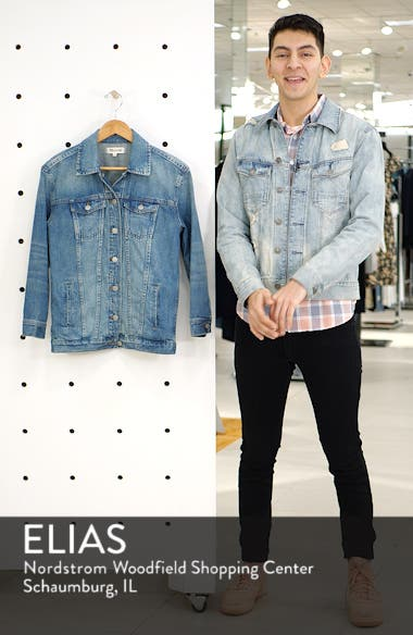 Oversize Denim Jacket, sales video thumbnail