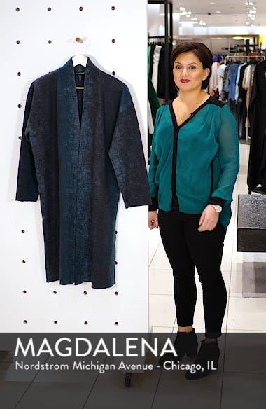 Wool Blend Kimono Coat, sales video thumbnail